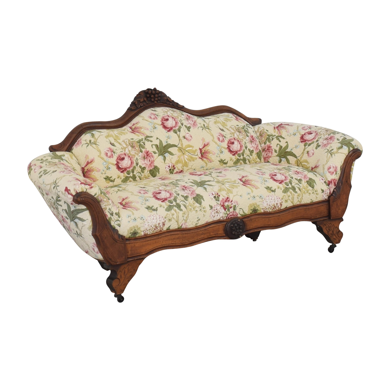 Vintage Style Floral Sofa on sale