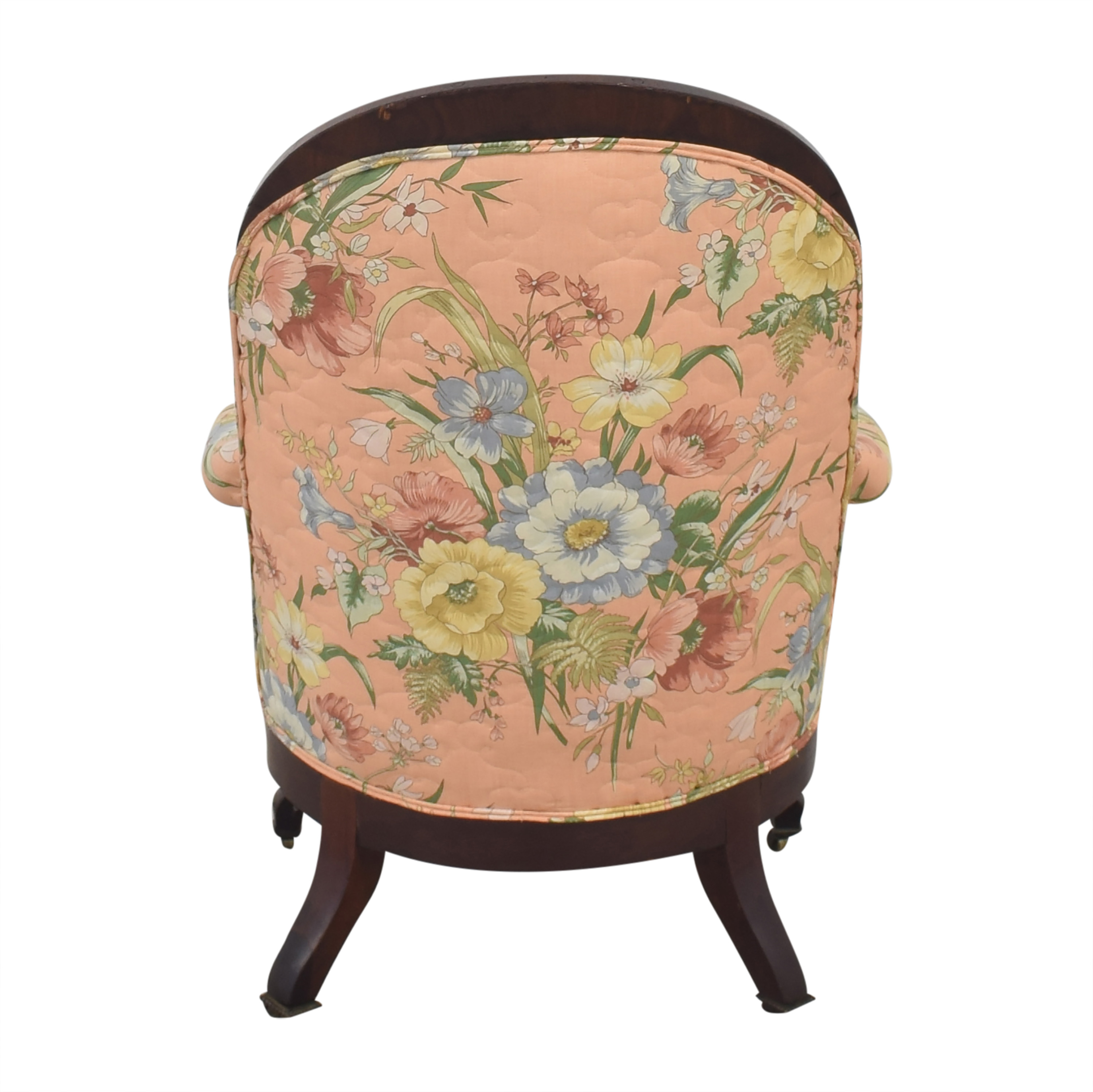 Vintage Style Upholstered Accent Chair multi
