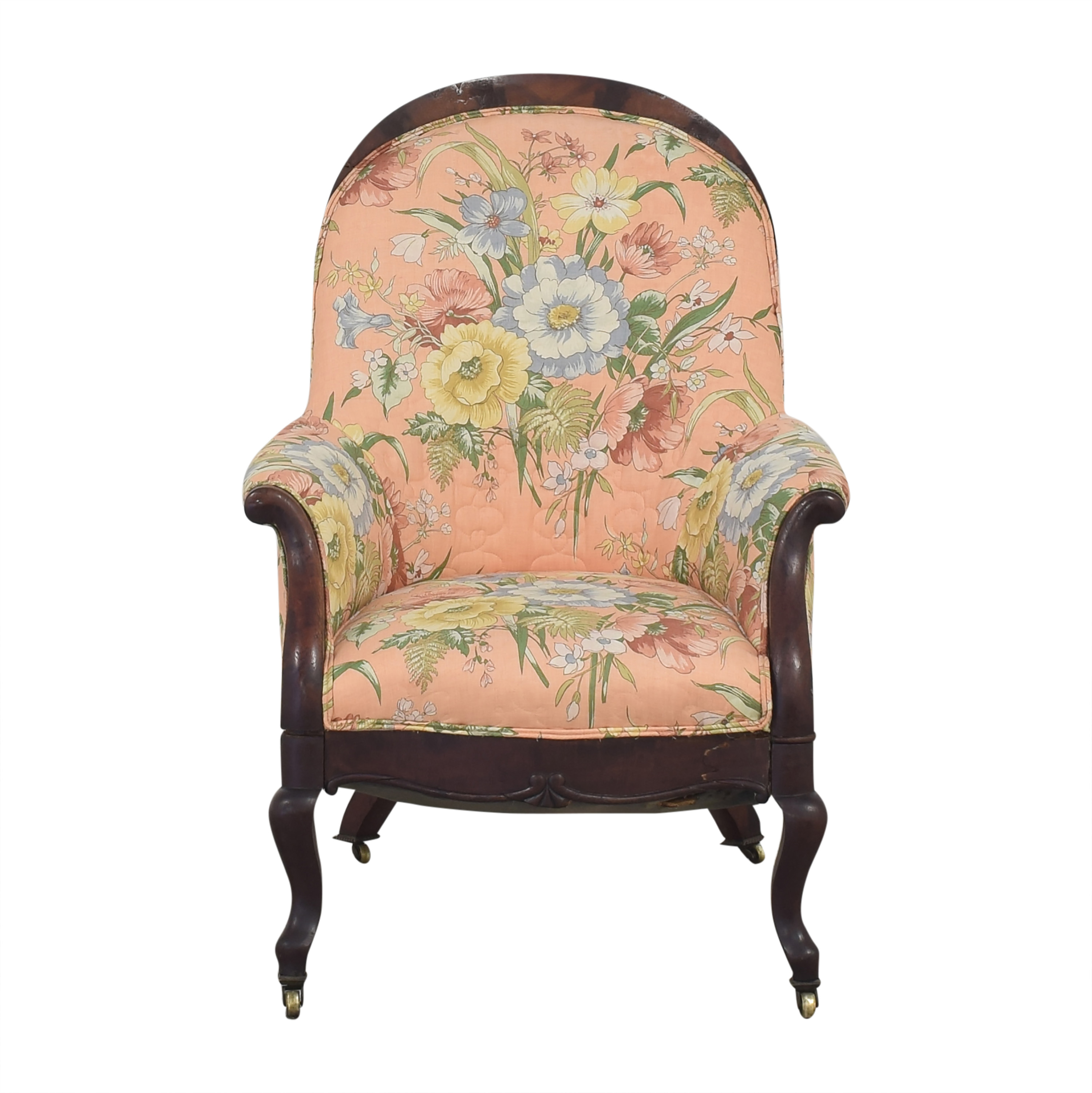 buy  Vintage Style Upholstered Accent Chair online