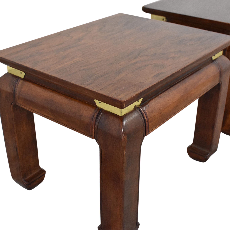 shop Henredon Vintage Style End Tables Henredon Furniture End Tables