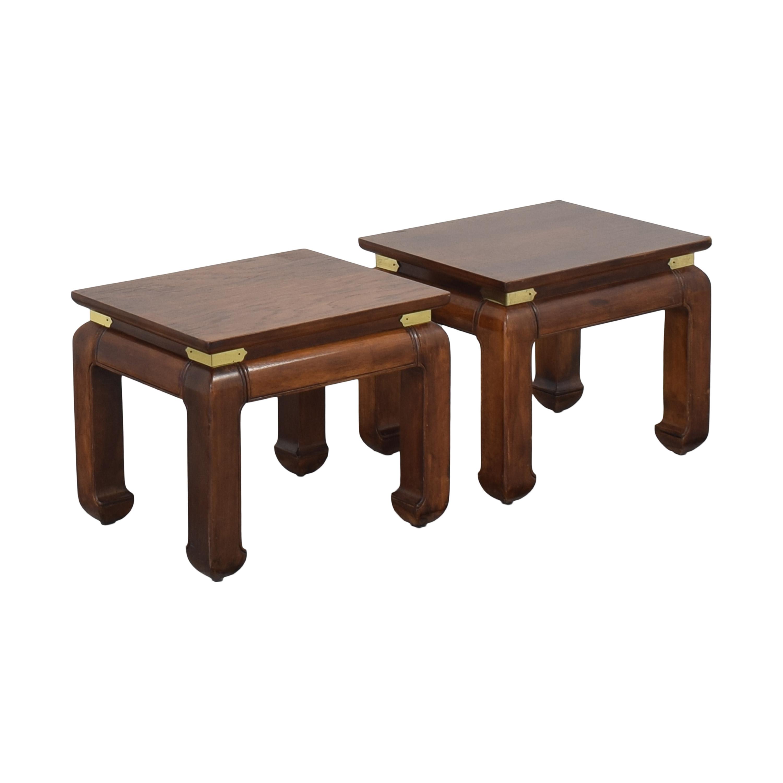 Henredon Furniture Henredon Vintage Style End Tables