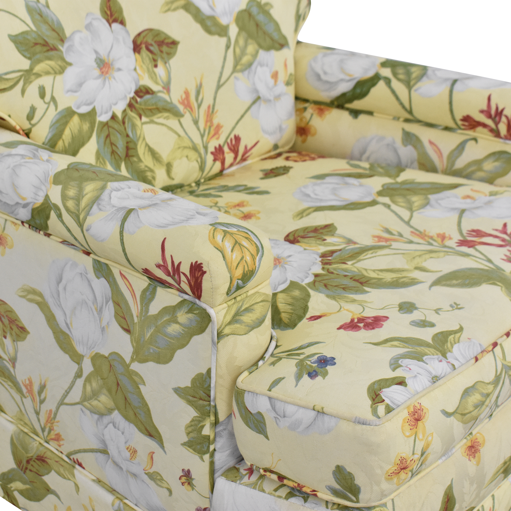 shop Floral Pattern Arm Chair  Accent Chairs