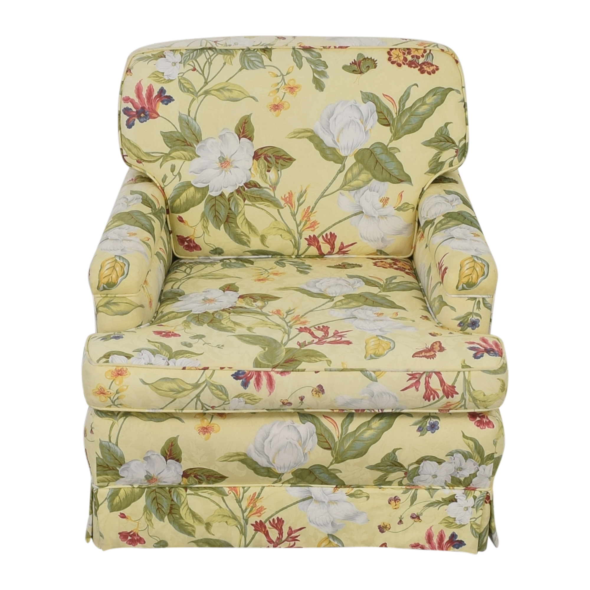 Floral Pattern Arm Chair / Accent Chairs