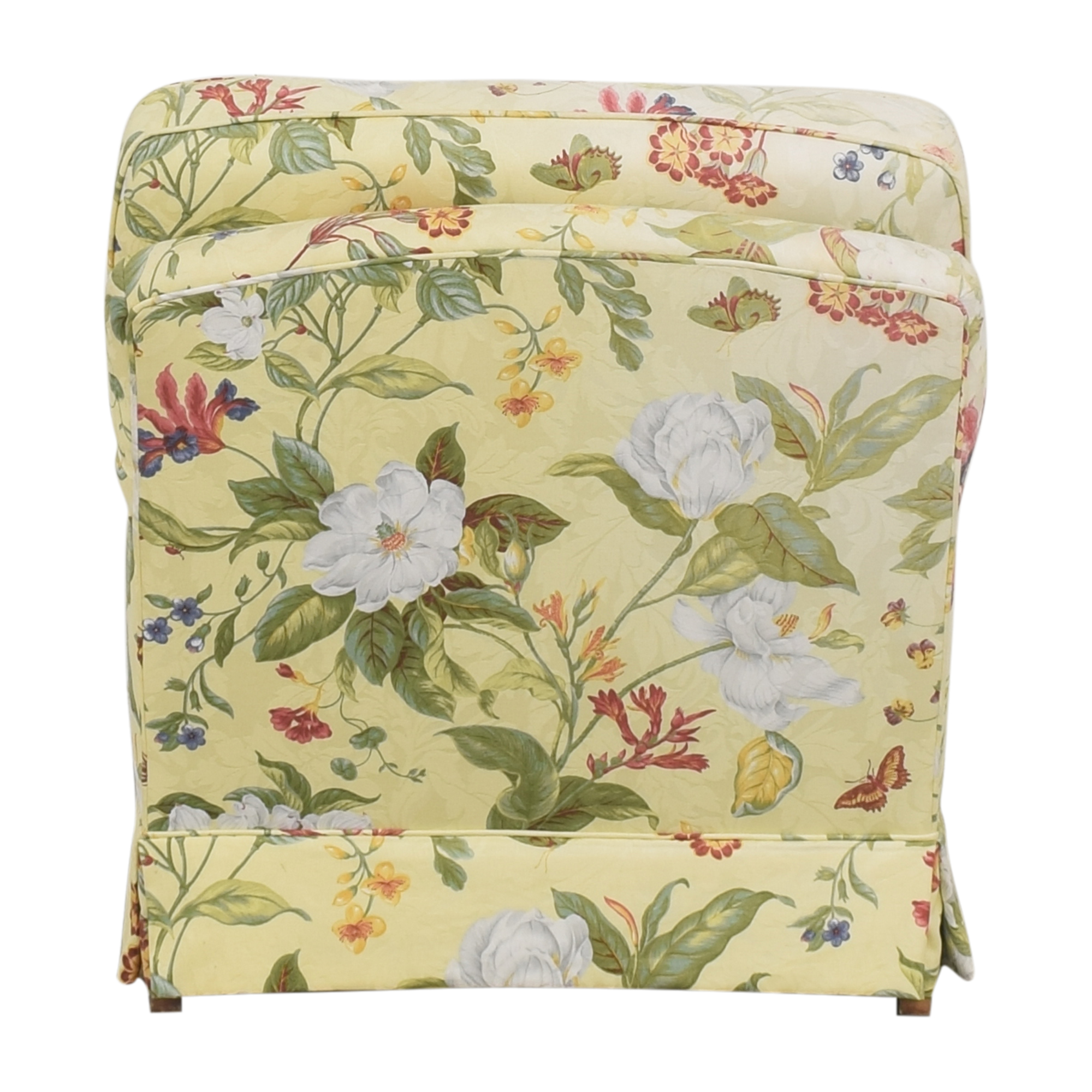 Floral Pattern Arm Chair nyc