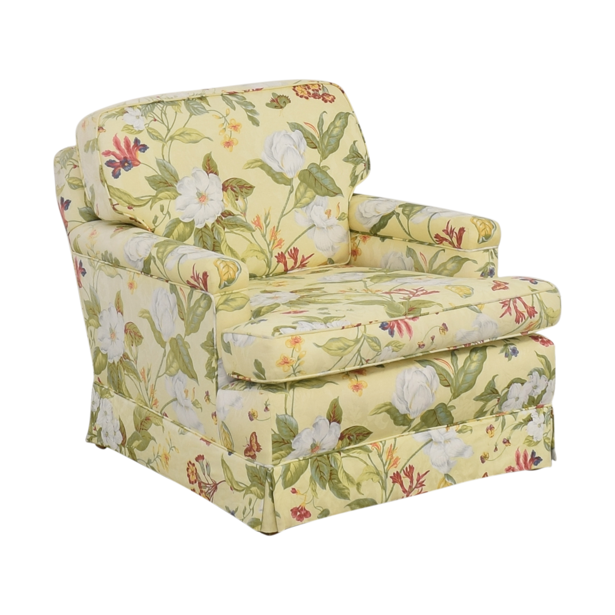 buy Floral Pattern Arm Chair  Chairs