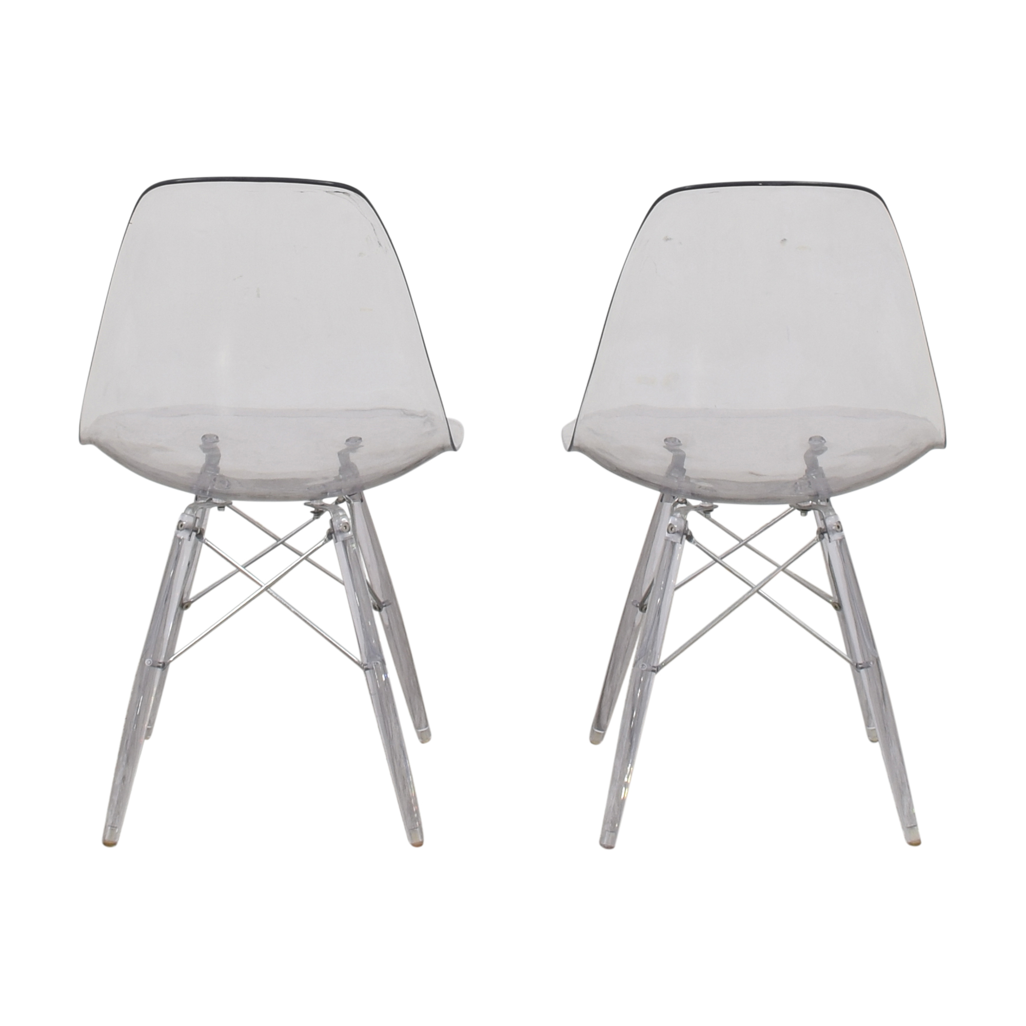 Ghost Style Accent Chairs Dining Chairs