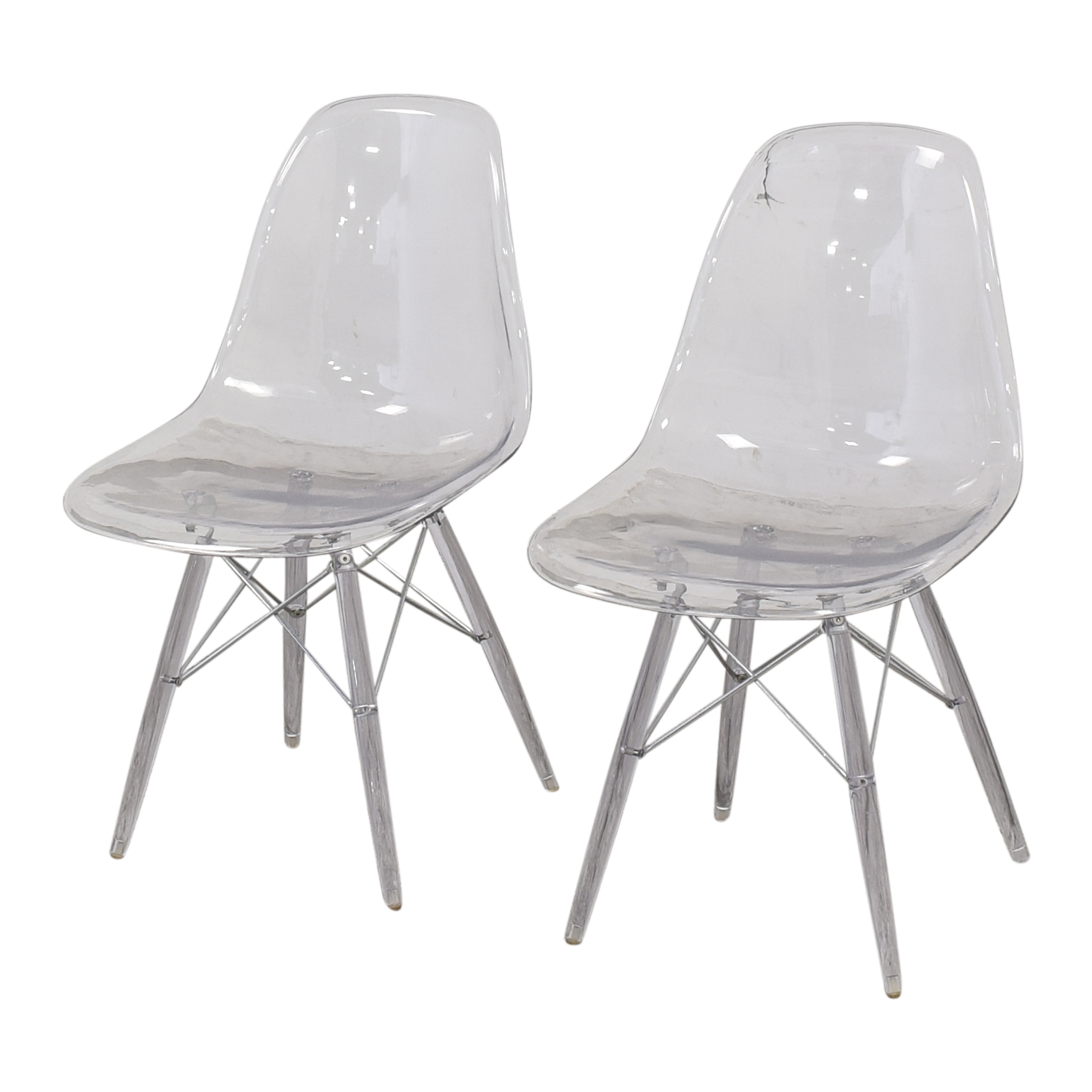 Ghost Style Accent Chairs discount