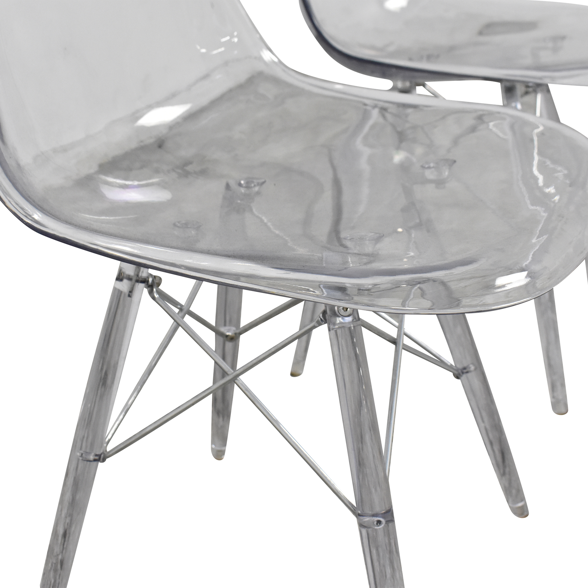 Ghost Style Accent Chairs