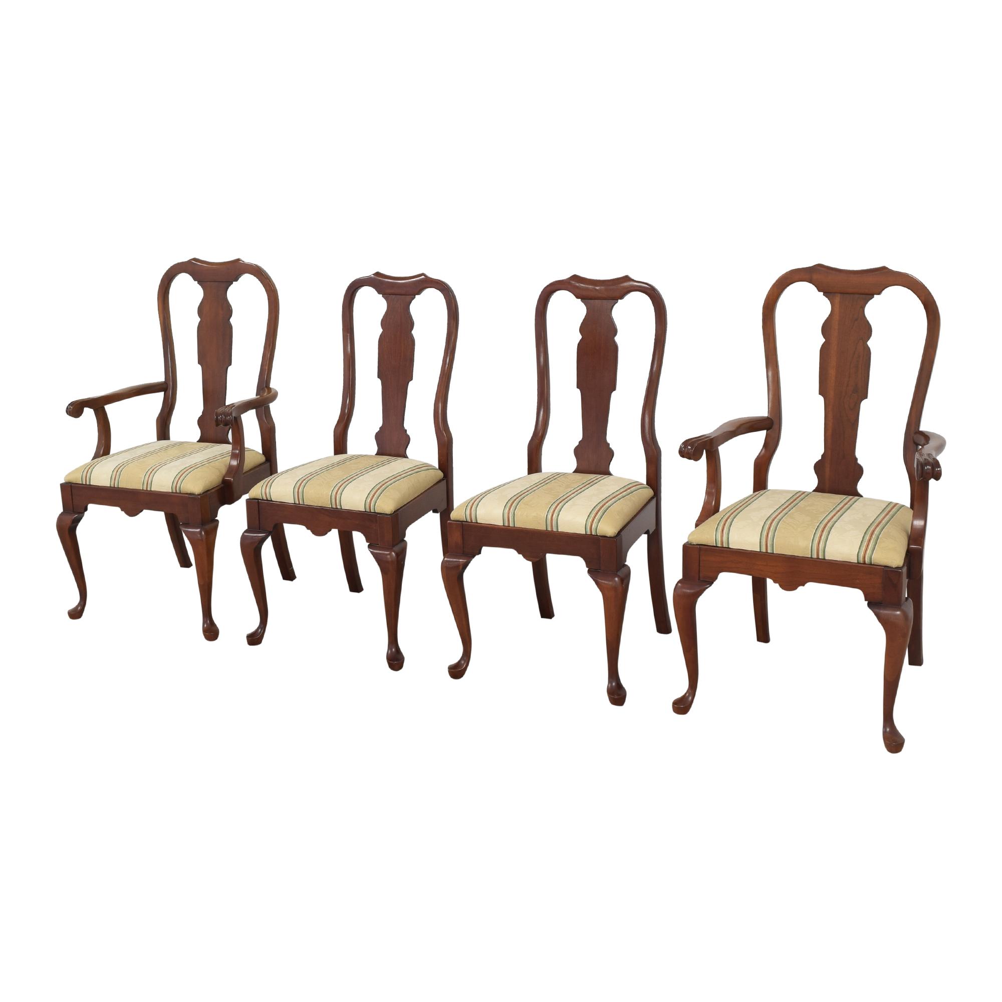 Pennsylvania House Pennsylvania House Stripe Dining Chairs second hand
