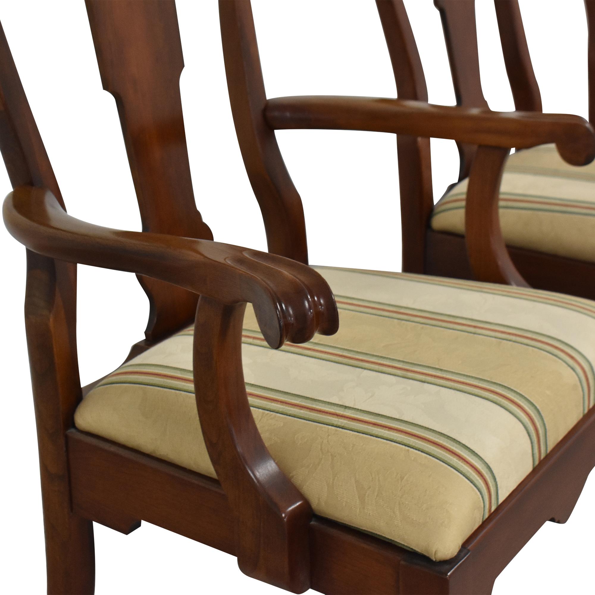 buy Pennsylvania House Stripe Dining Chairs Pennsylvania House