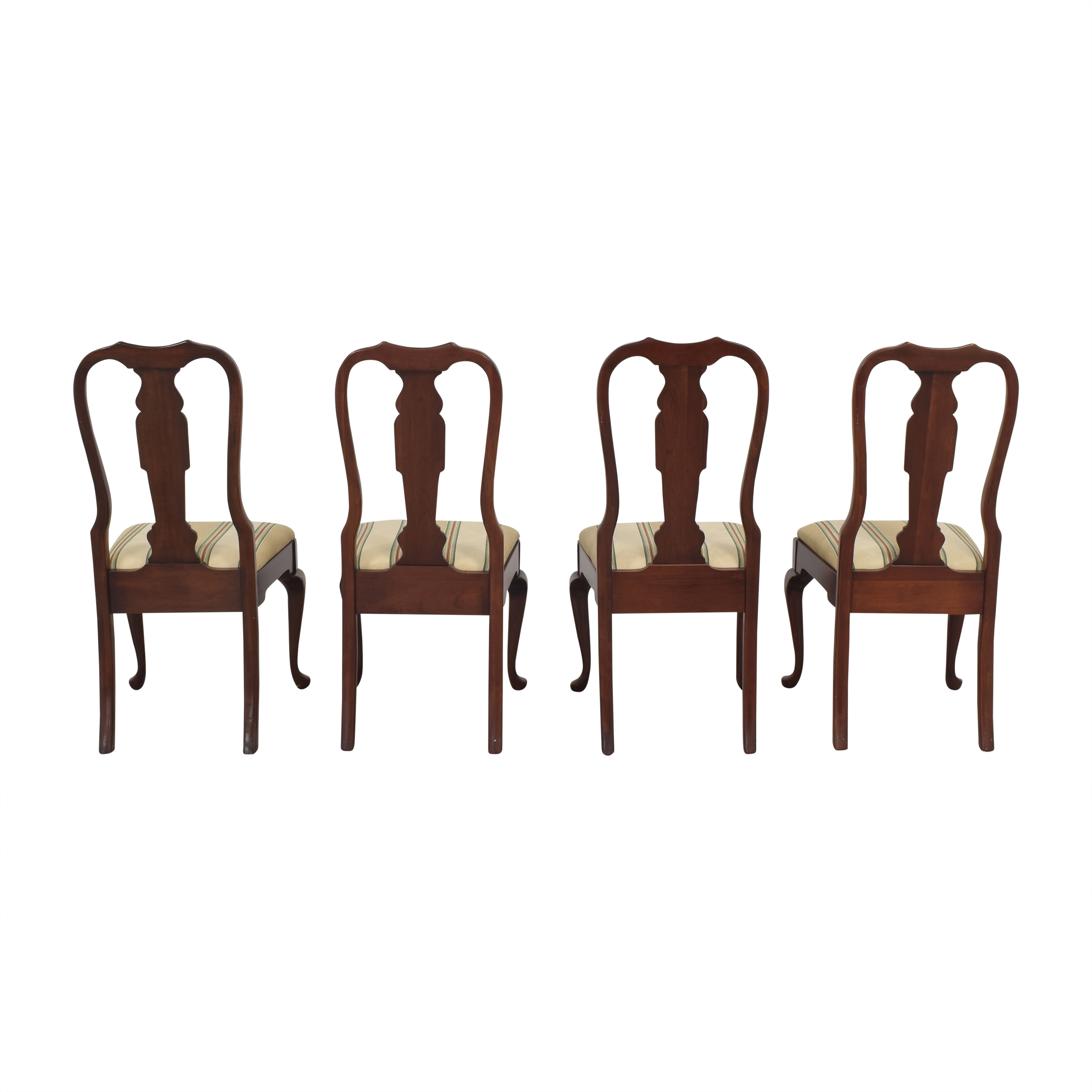 shop Pennsylvania House Stripe Dining Chairs Pennsylvania House Chairs