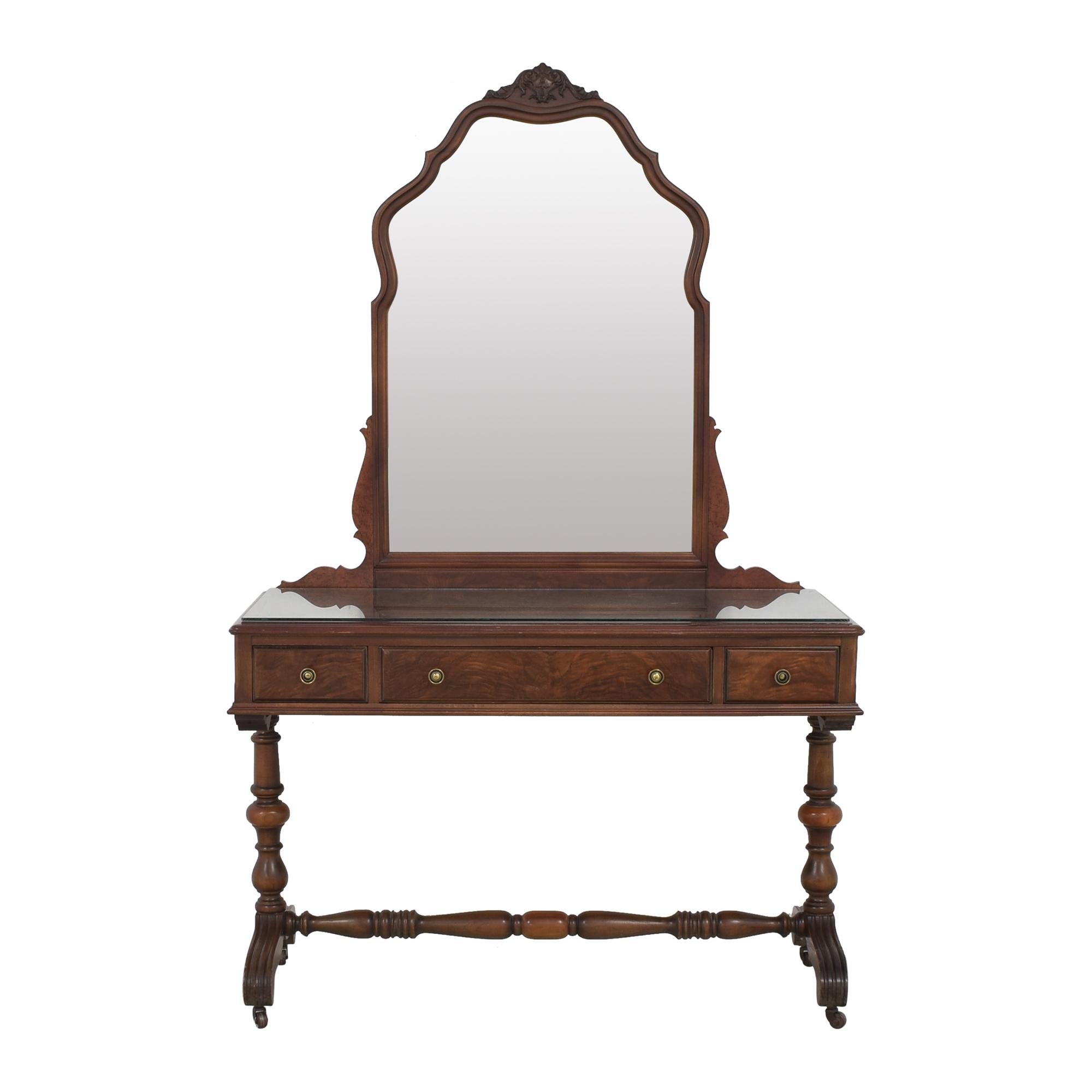 buy Rishel Company Vanity with Removable Mirror Rishel Company Home Office Desks
