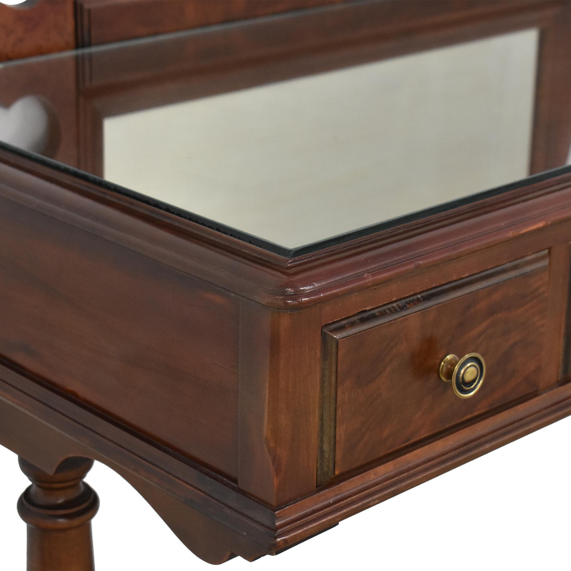 Rishel Company Rishel Company Vanity with Removable Mirror brown