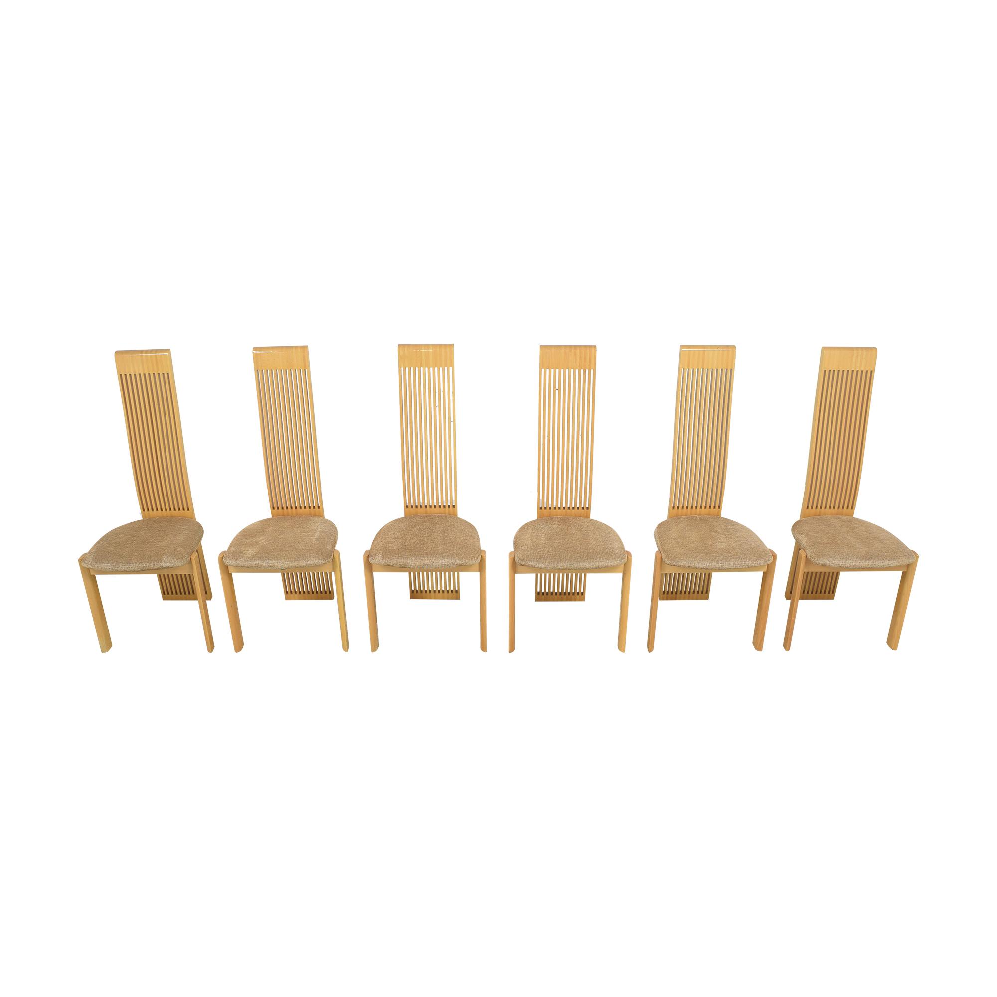 Pietro Costantini Pietro Costantini High Back Dining Chairs on sale