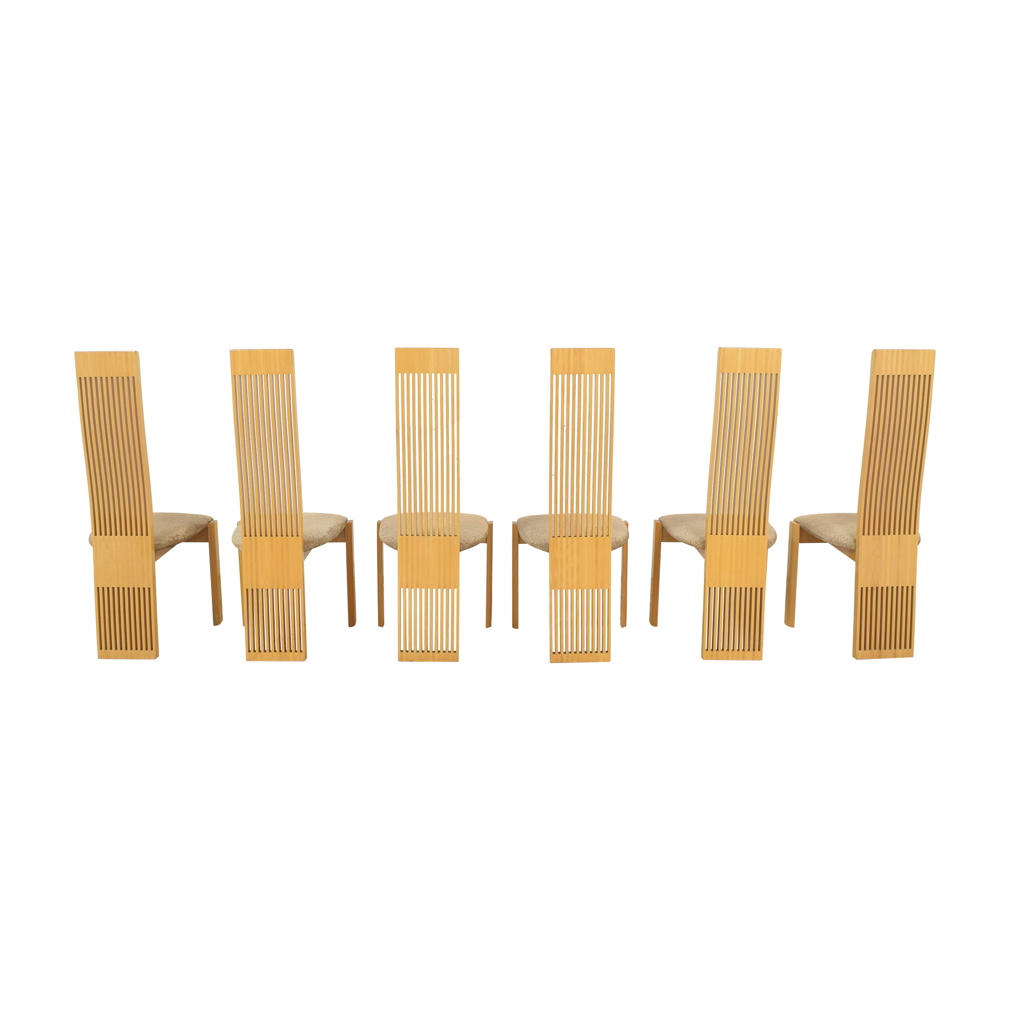 Pietro Costantini Pietro Costantini High Back Dining Chairs used