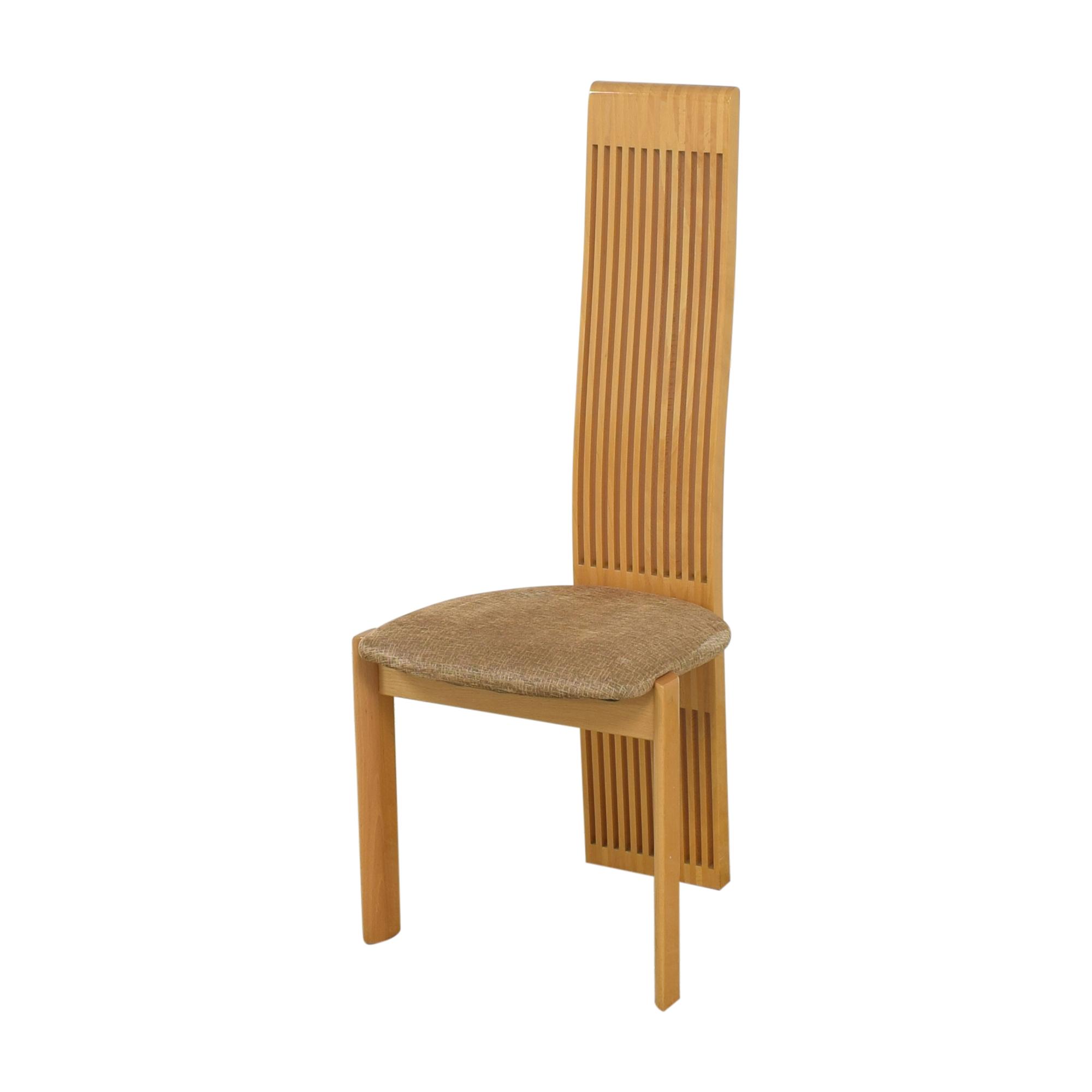 Pietro Costantini Pietro Costantini High Back Dining Chairs ma
