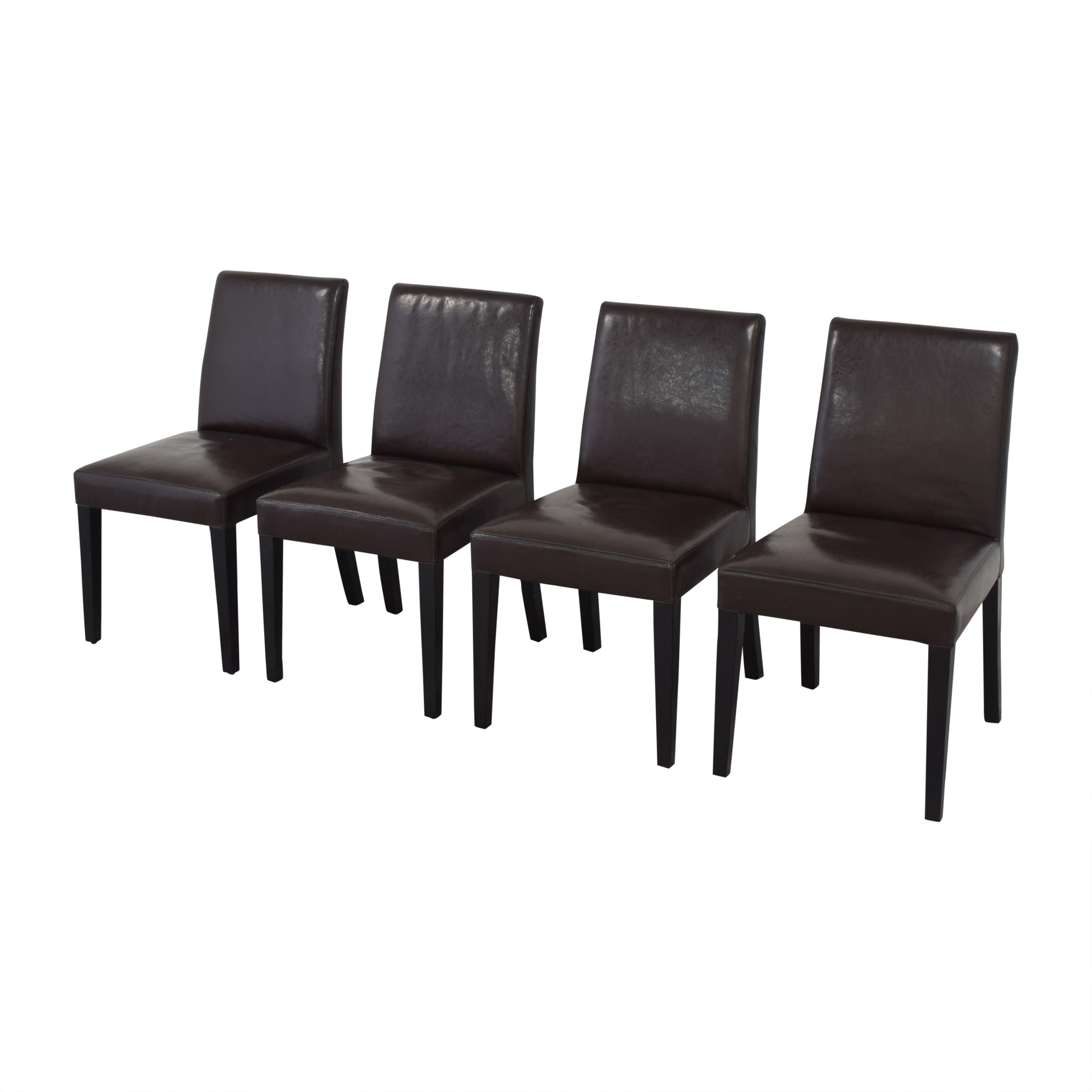 Crate & Barrel Crate & Barrel Pullman Side Chairs Dining Chairs
