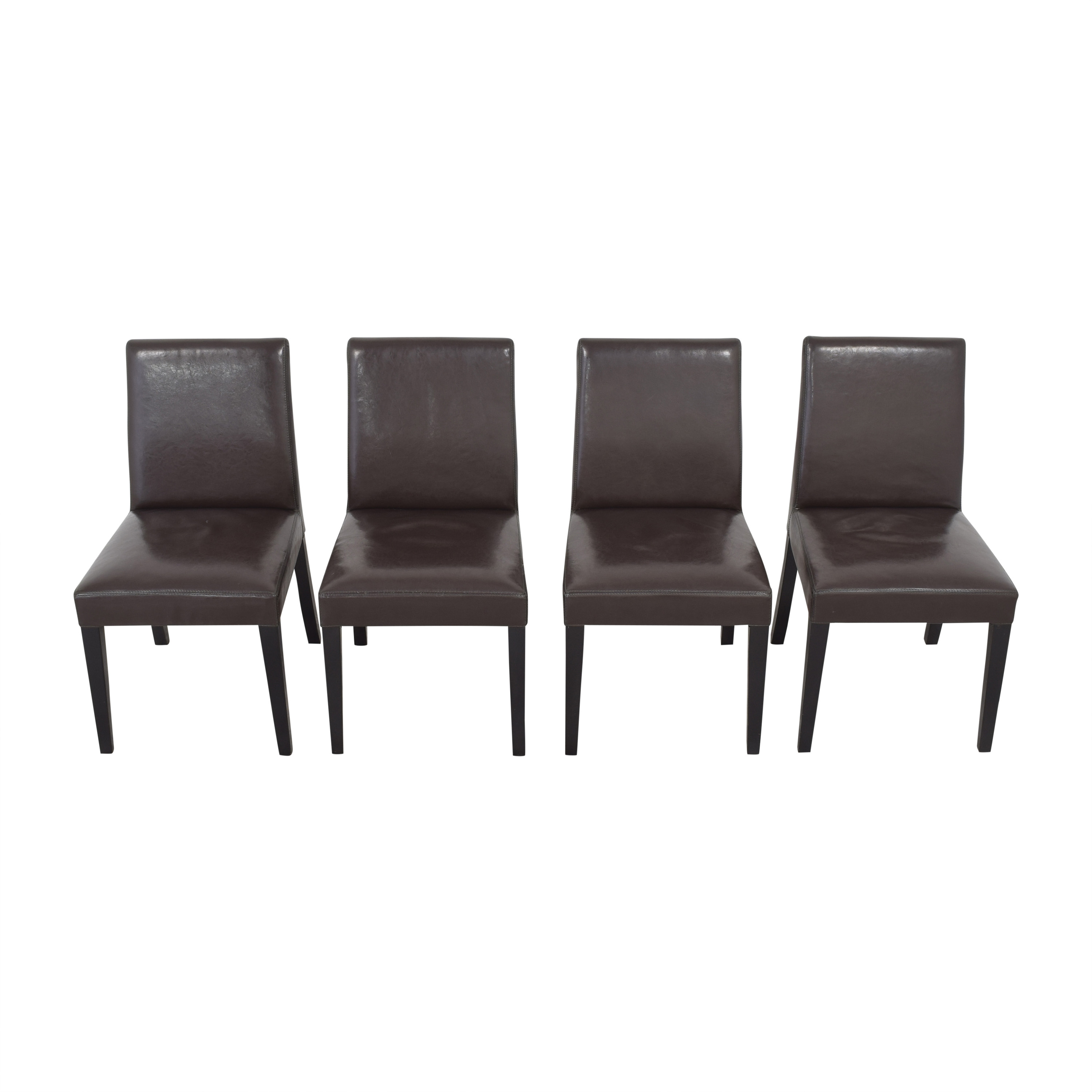 Crate & Barrel Crate & Barrel Pullman Side Chairs price