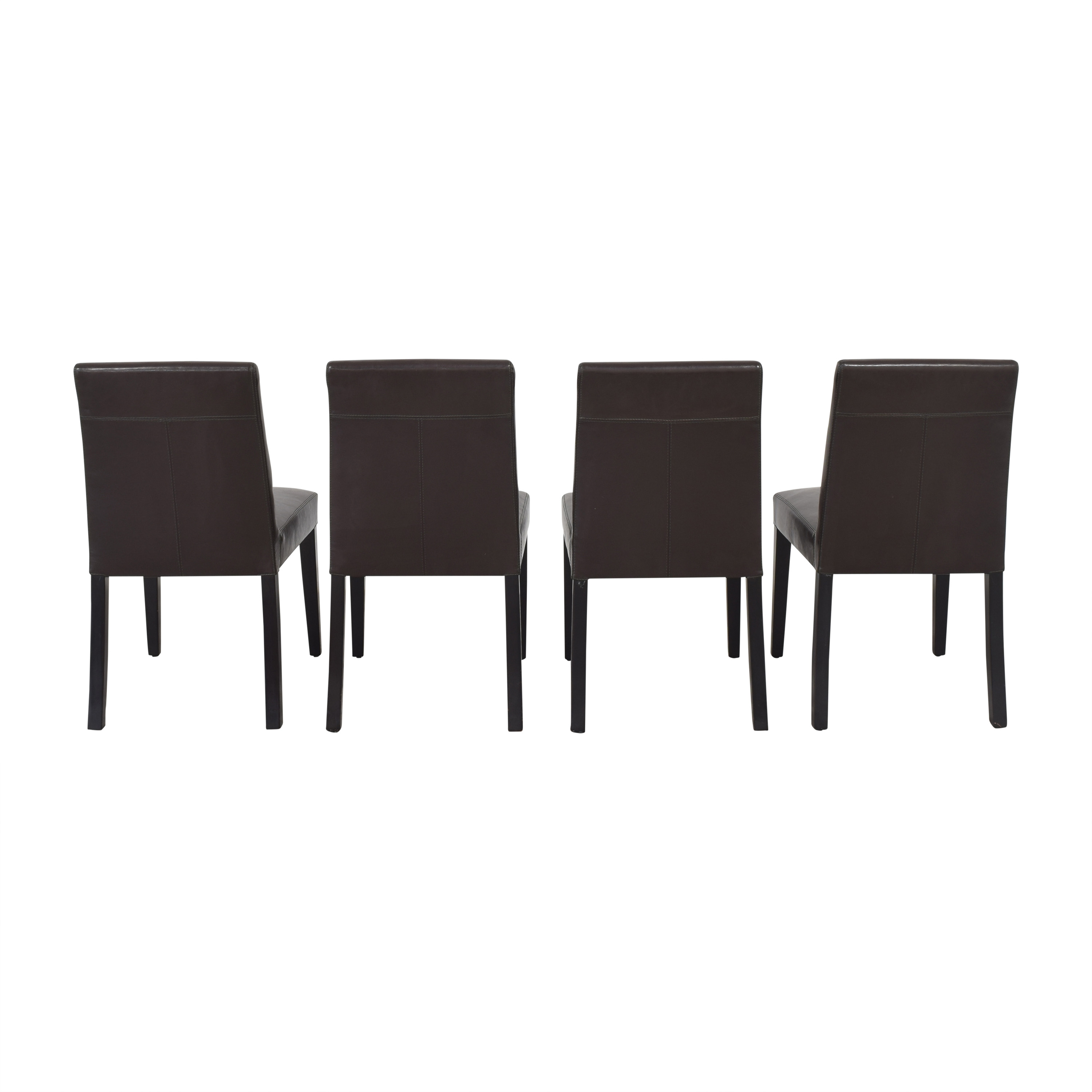 Crate & Barrel Crate & Barrel Pullman Side Chairs dimensions