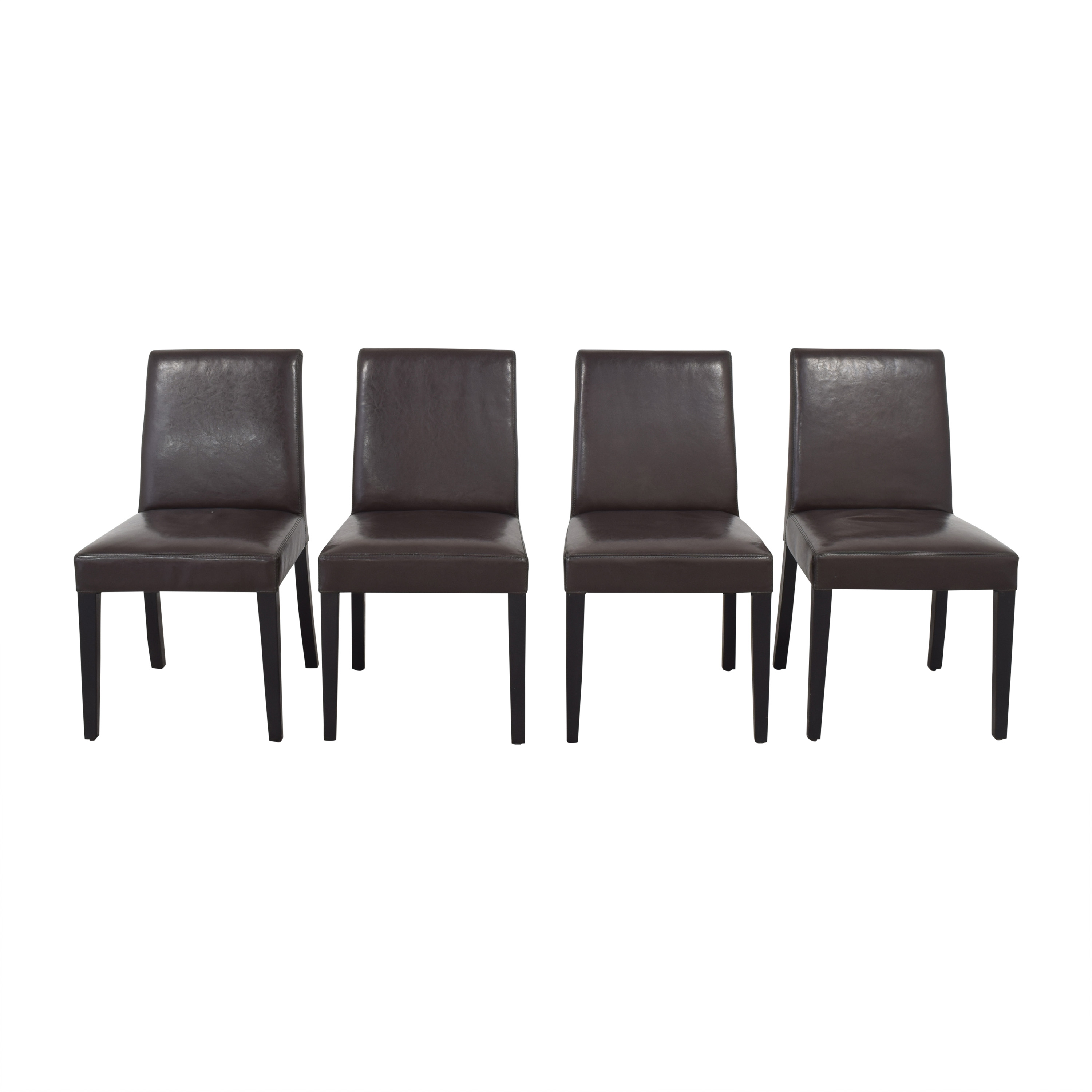 Crate & Barrel Crate & Barrel Pullman Side Chairs Chairs