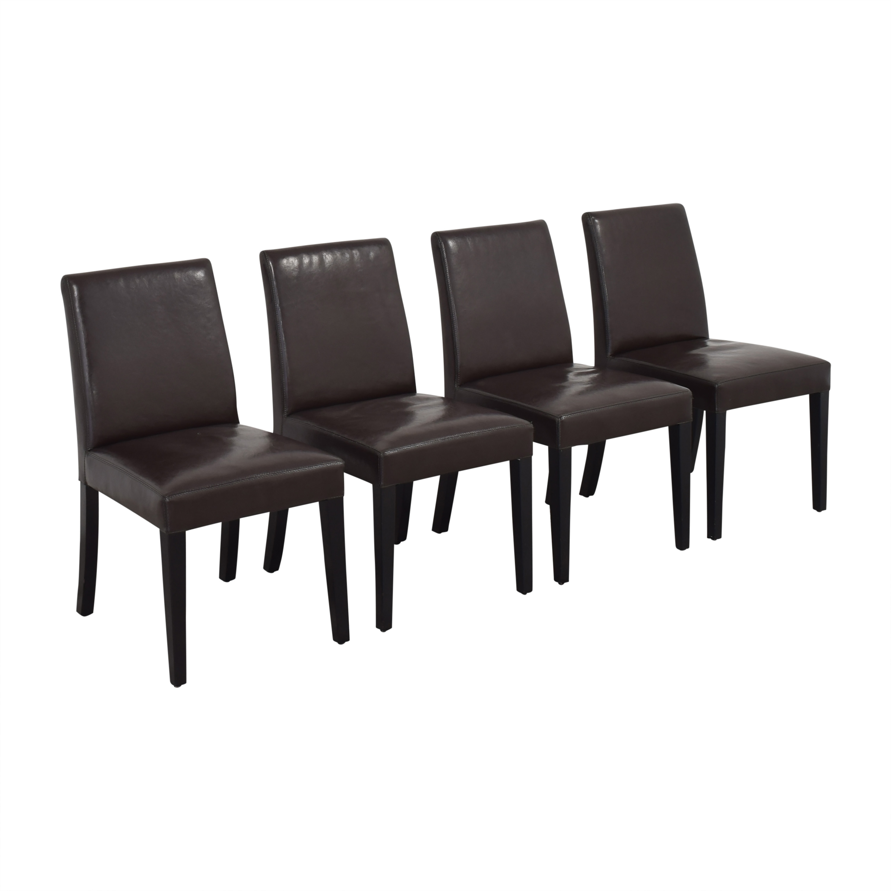 Crate & Barrel Crate & Barrel Pullman Side Chairs