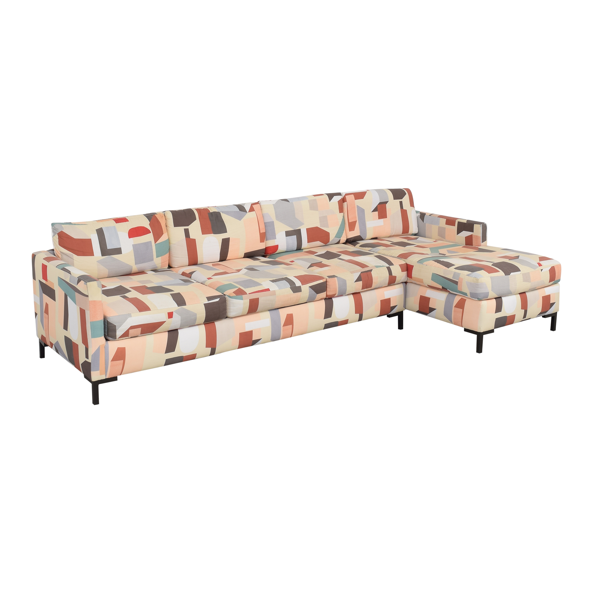 shop The Inside Modern Right Facing Sectional The Inside Sofas