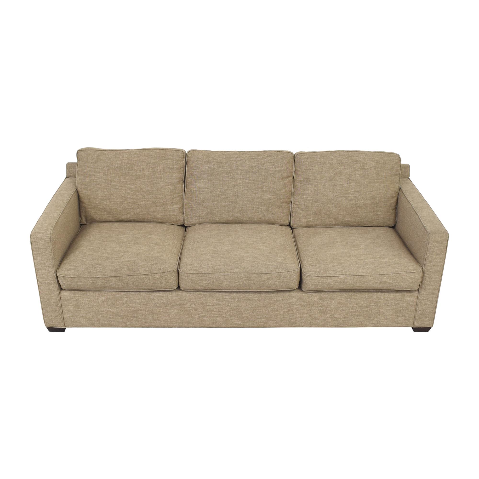 Crate & Barrel Crate & Barrel Davis 3 Seat Sofa nyc