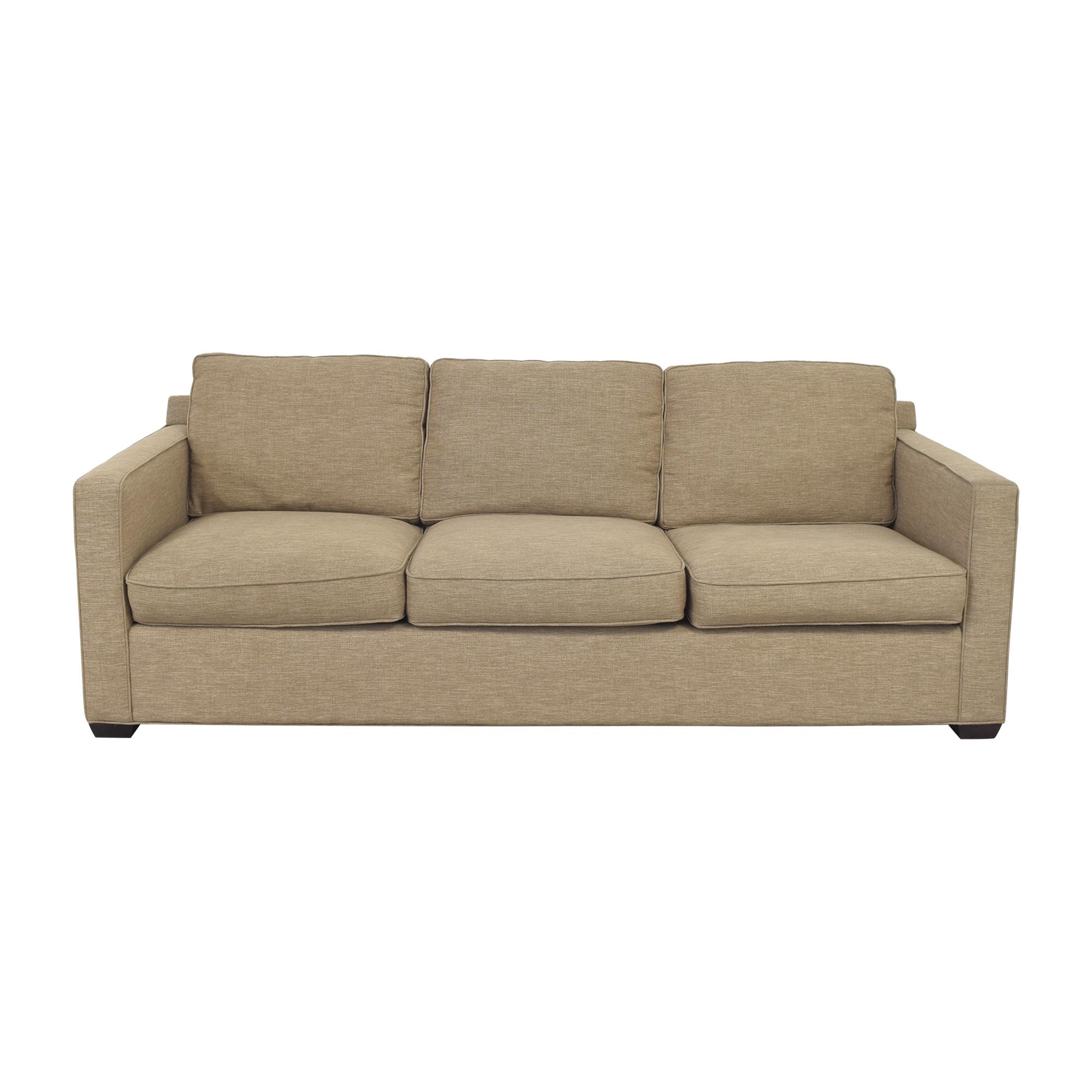 shop Crate & Barrel Davis 3 Seat Sofa Crate & Barrel Sofas