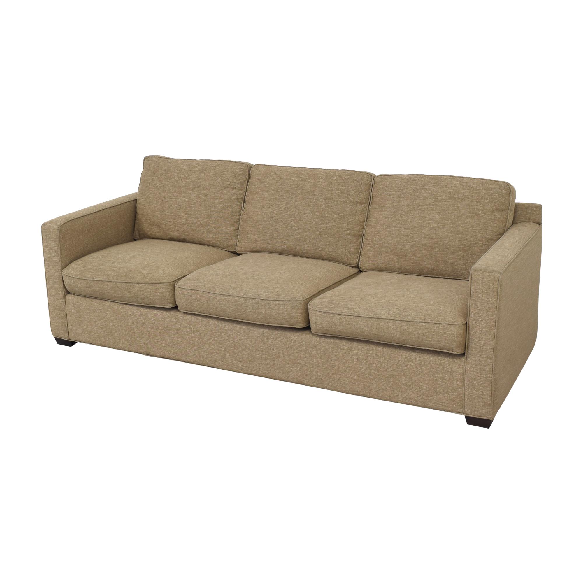 Crate & Barrel Crate & Barrel Davis 3 Seat Sofa second hand