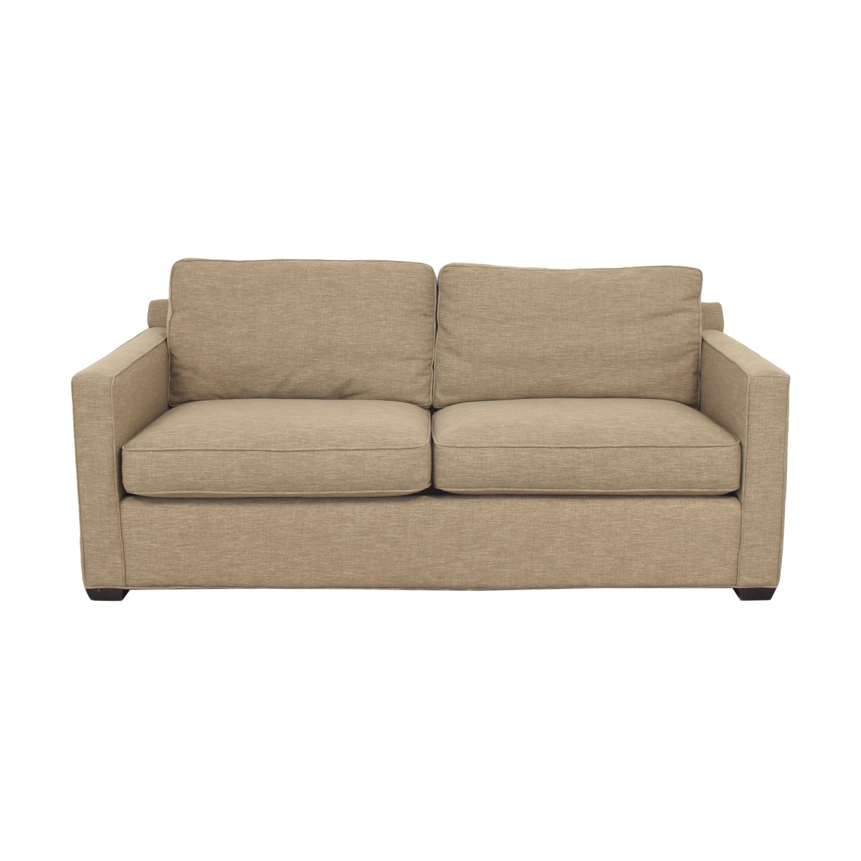 buy Crate & Barrel Davis Two Cushion Sofa Crate & Barrel Sofas