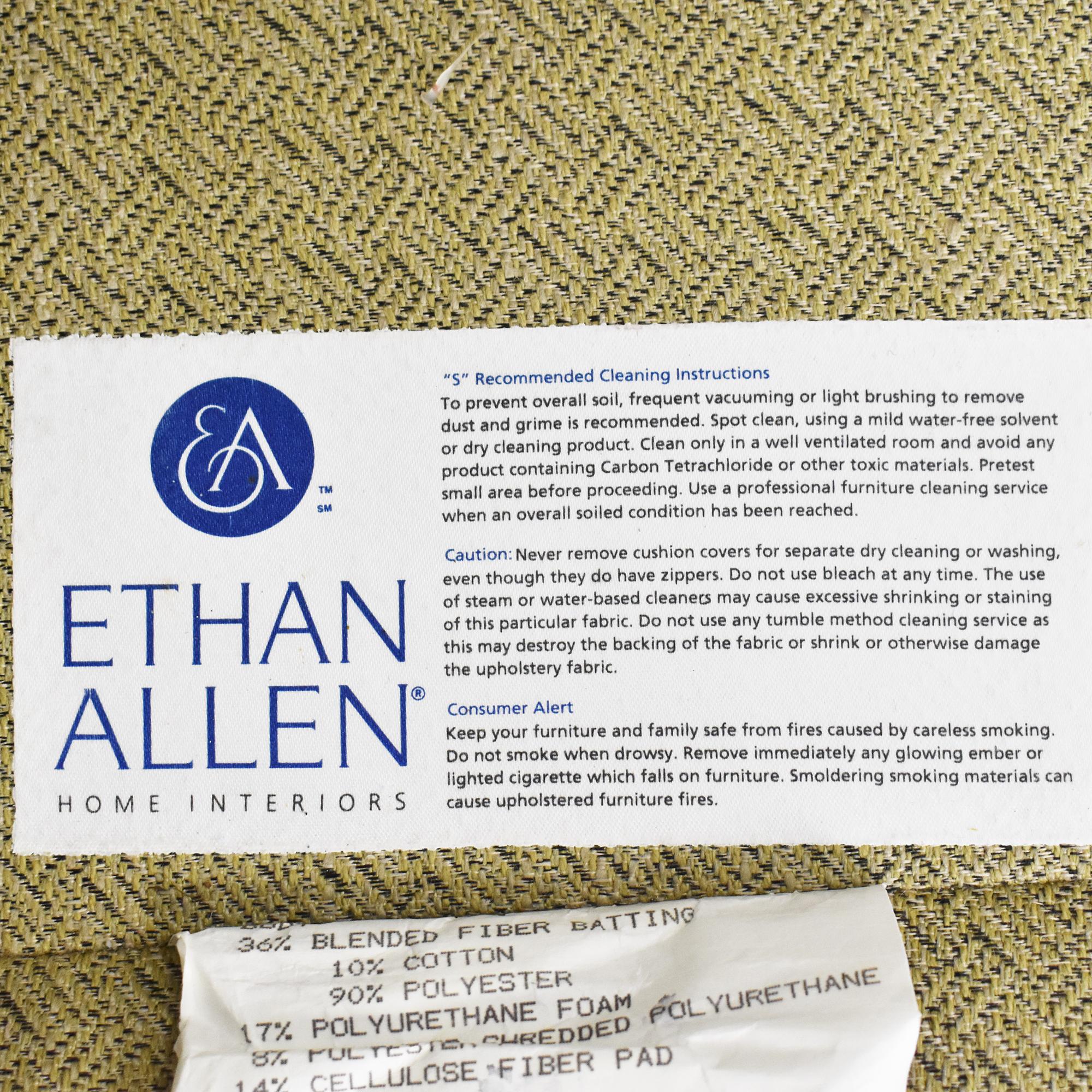Ethan Allen Ethan Allan Skirted Sectional Sofa Sectionals