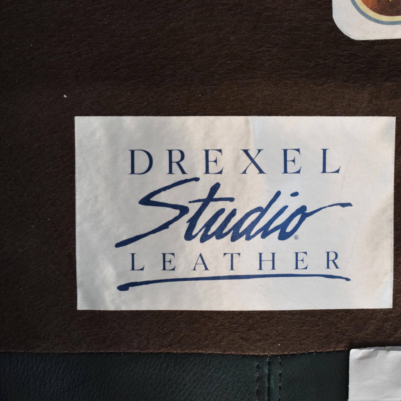 Drexel Drexel Studio Chair with Ottoman second hand