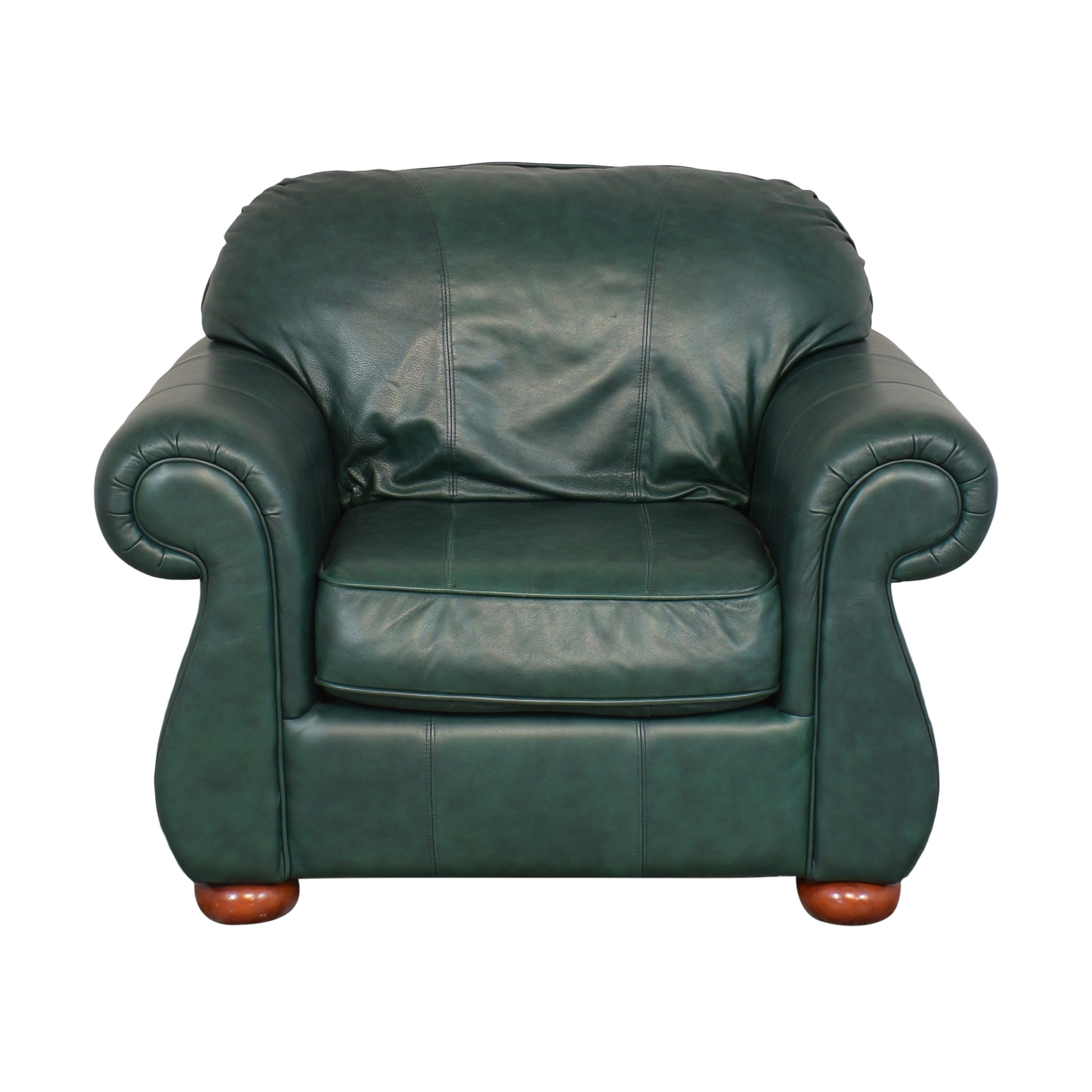 Drexel Drexel Studio Chair with Ottoman Chairs