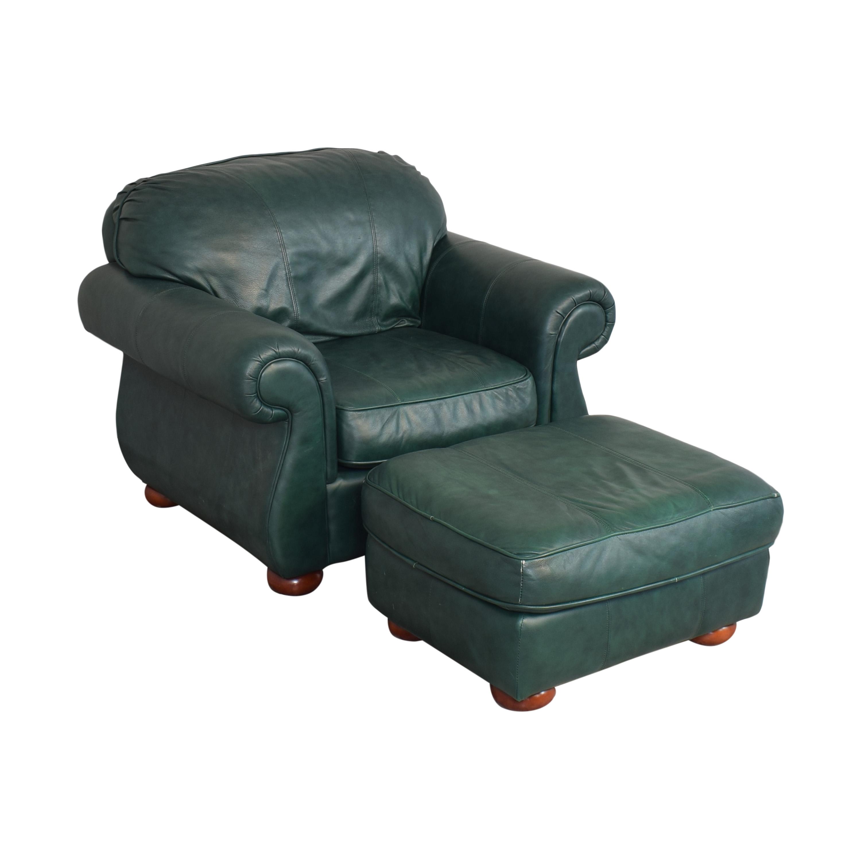 buy Drexel Studio Chair with Ottoman Drexel
