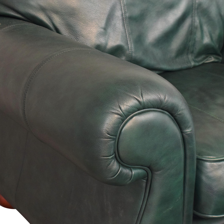 Drexel Studio Chair with Ottoman Drexel