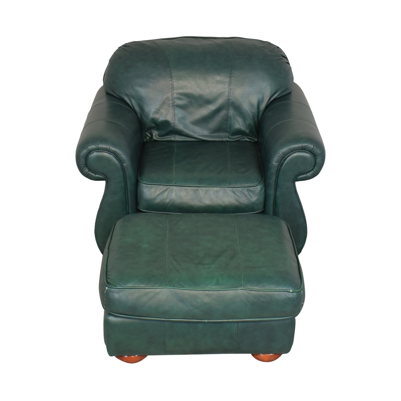 Drexel Drexel Studio Chair with Ottoman coupon