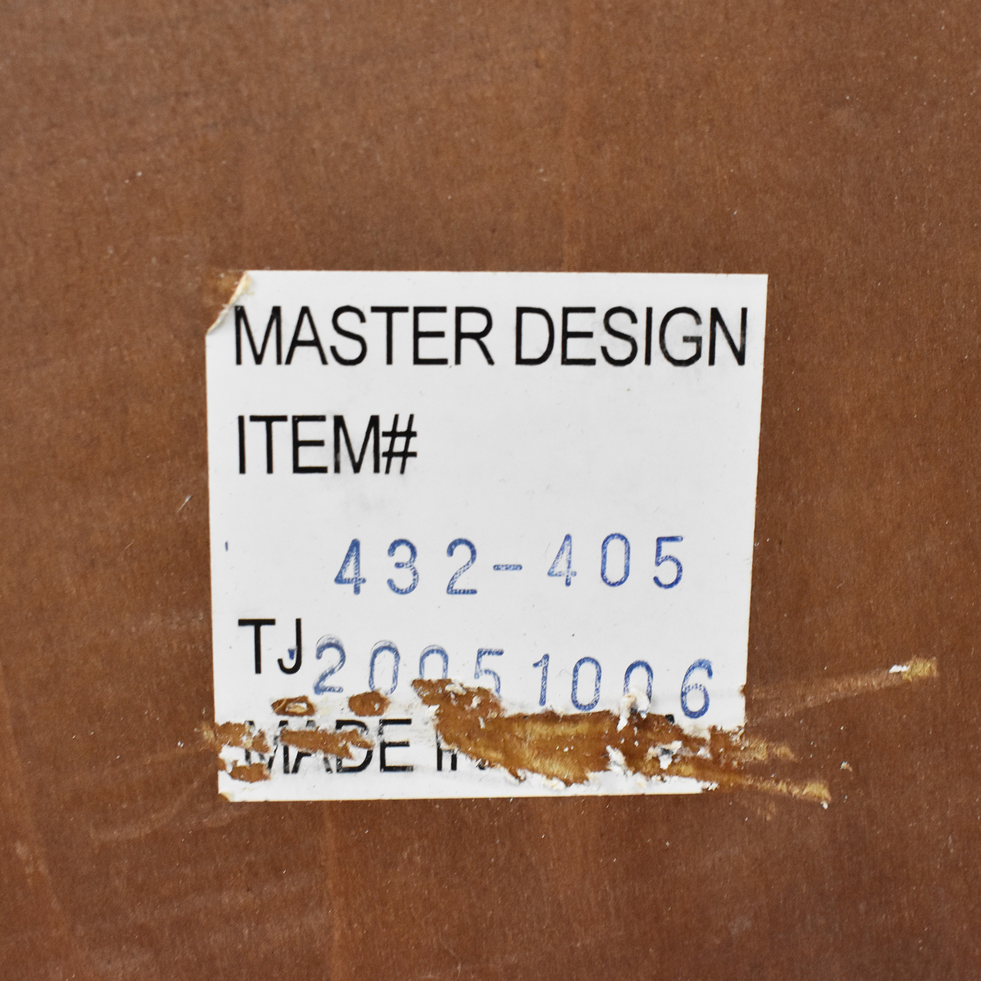 Master Design Furniture Master Design Furniture End Table discount