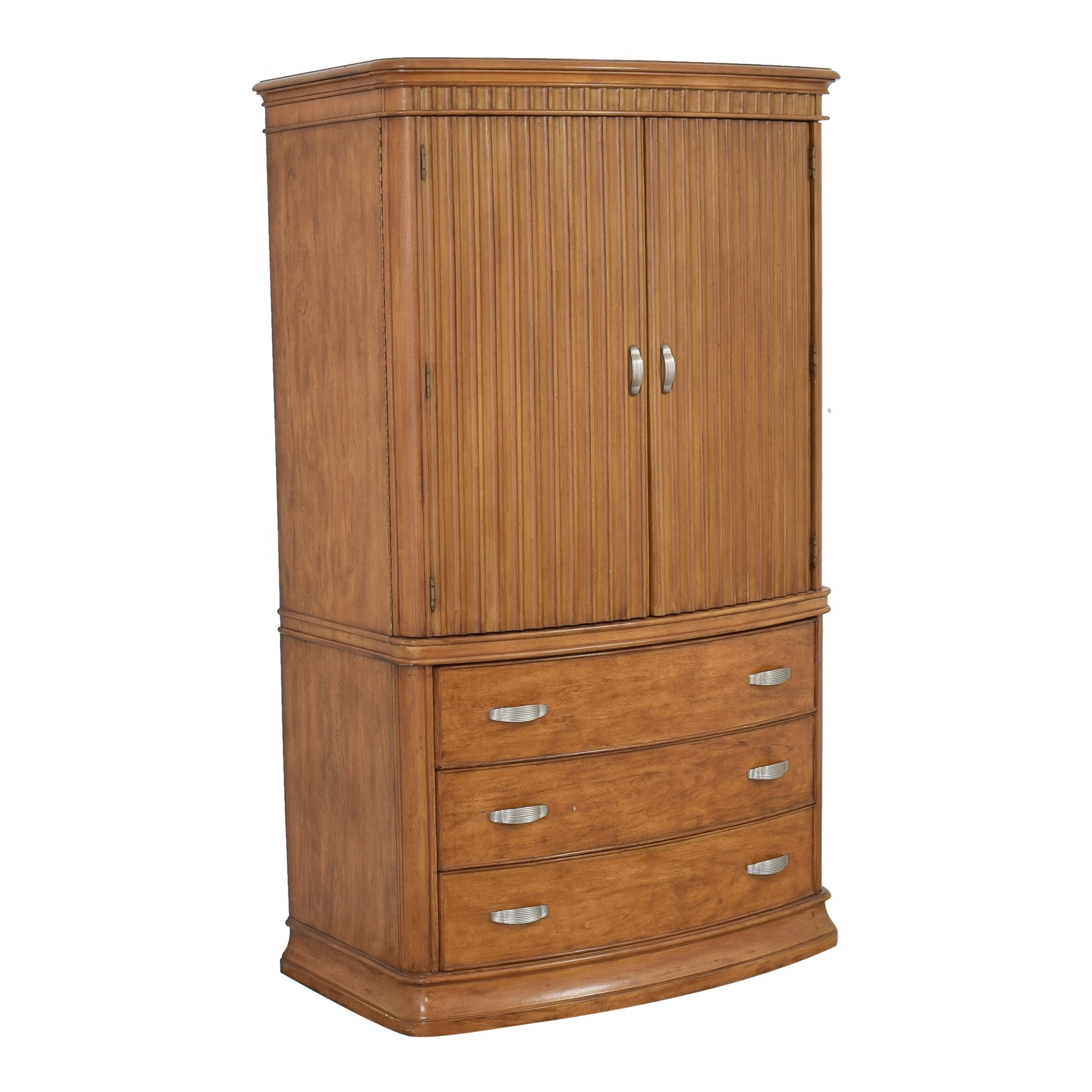 buy Two Door Media Armoire  Storage