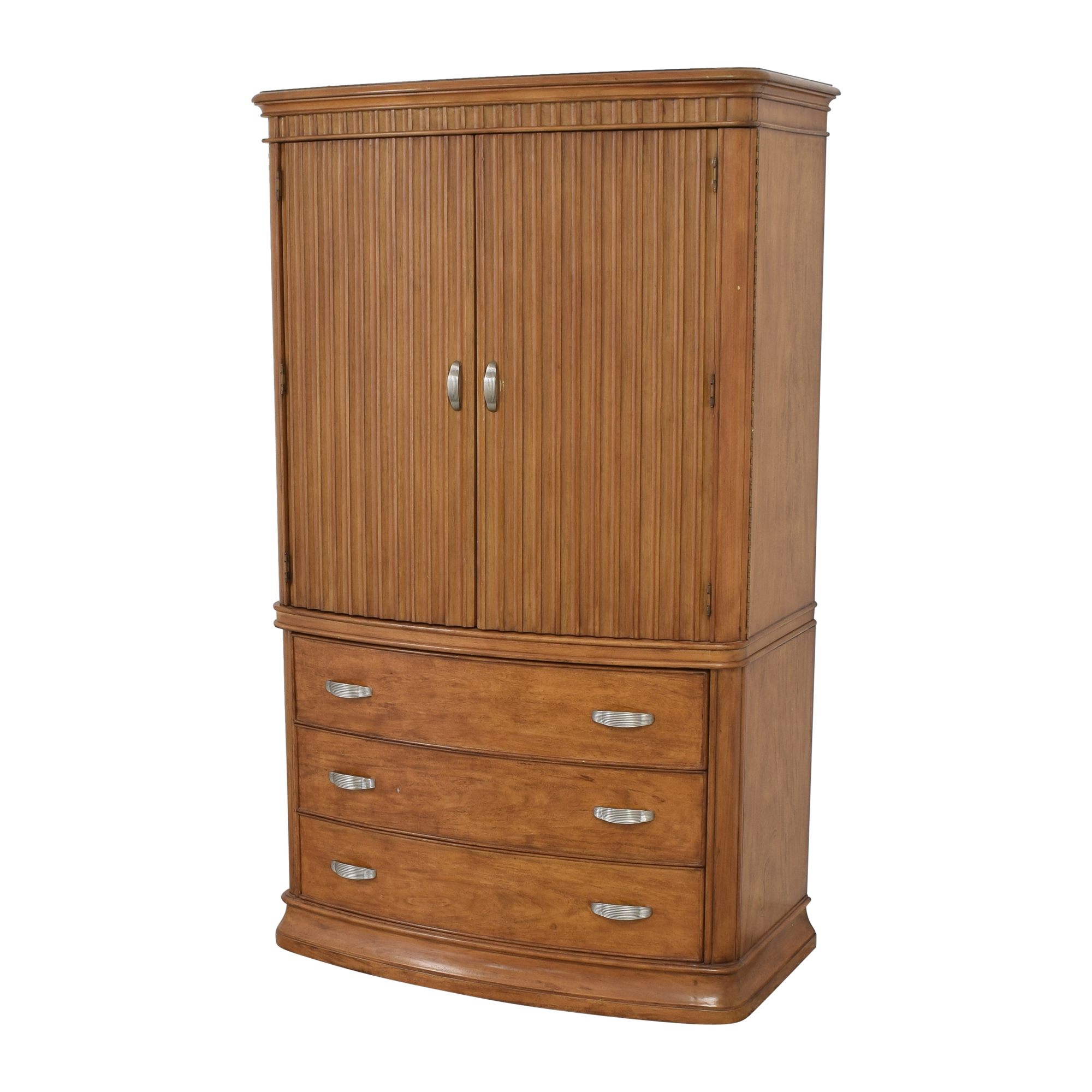 buy Two Door Media Armoire  Wardrobes & Armoires