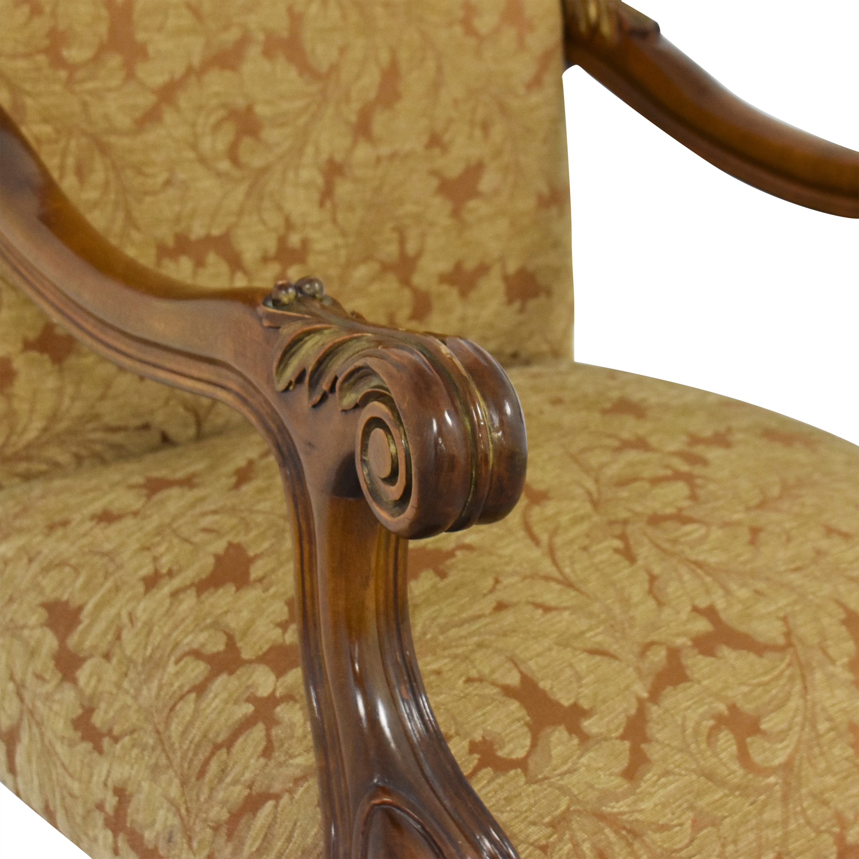 Vintage Upholsted Armchair