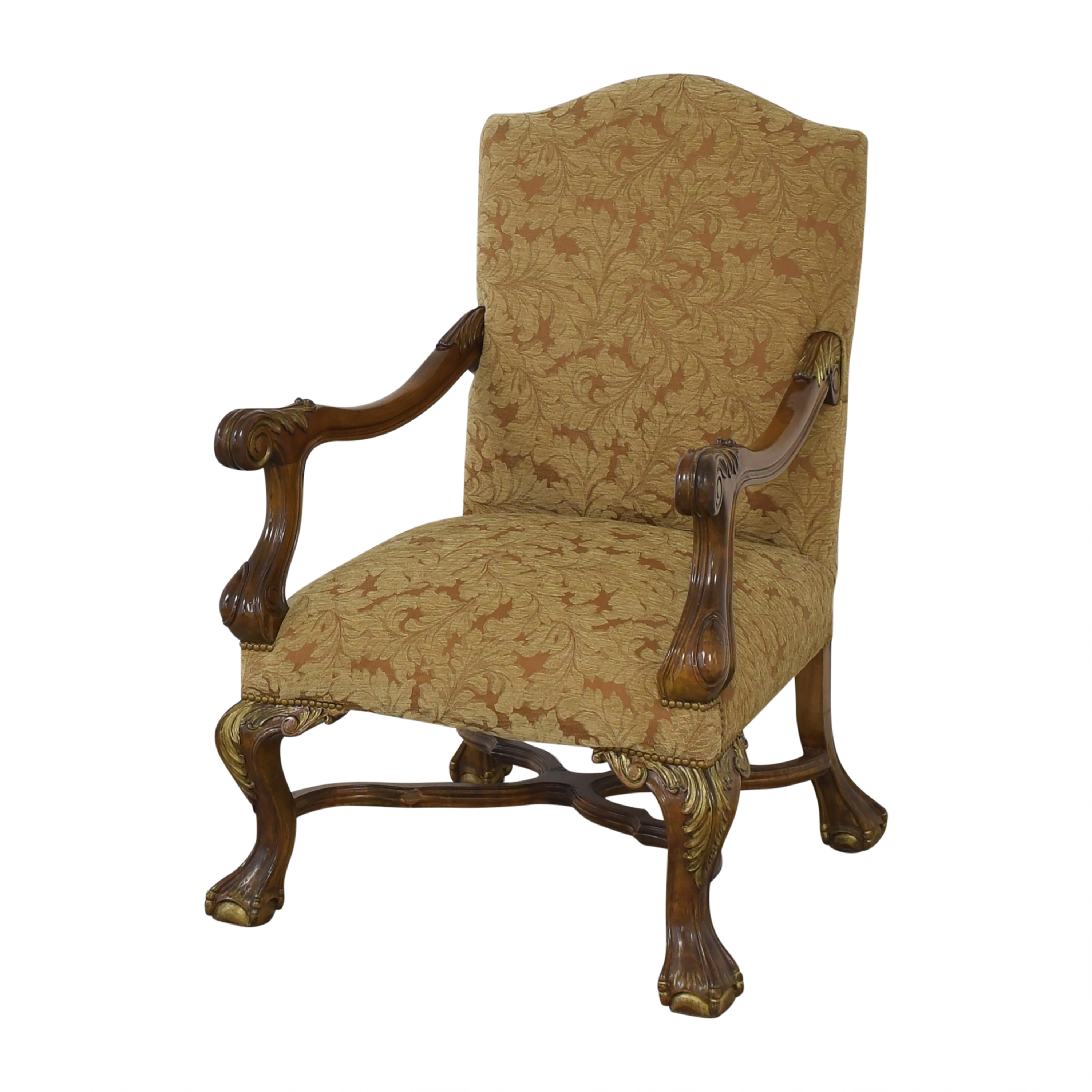 Vintage Upholsted Armchair / Chairs