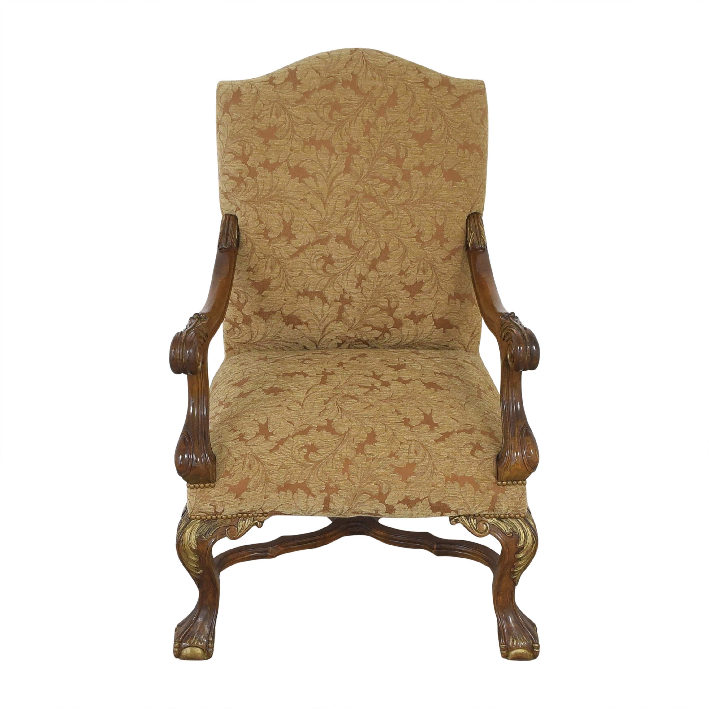 Vintage Upholsted Armchair Accent Chairs
