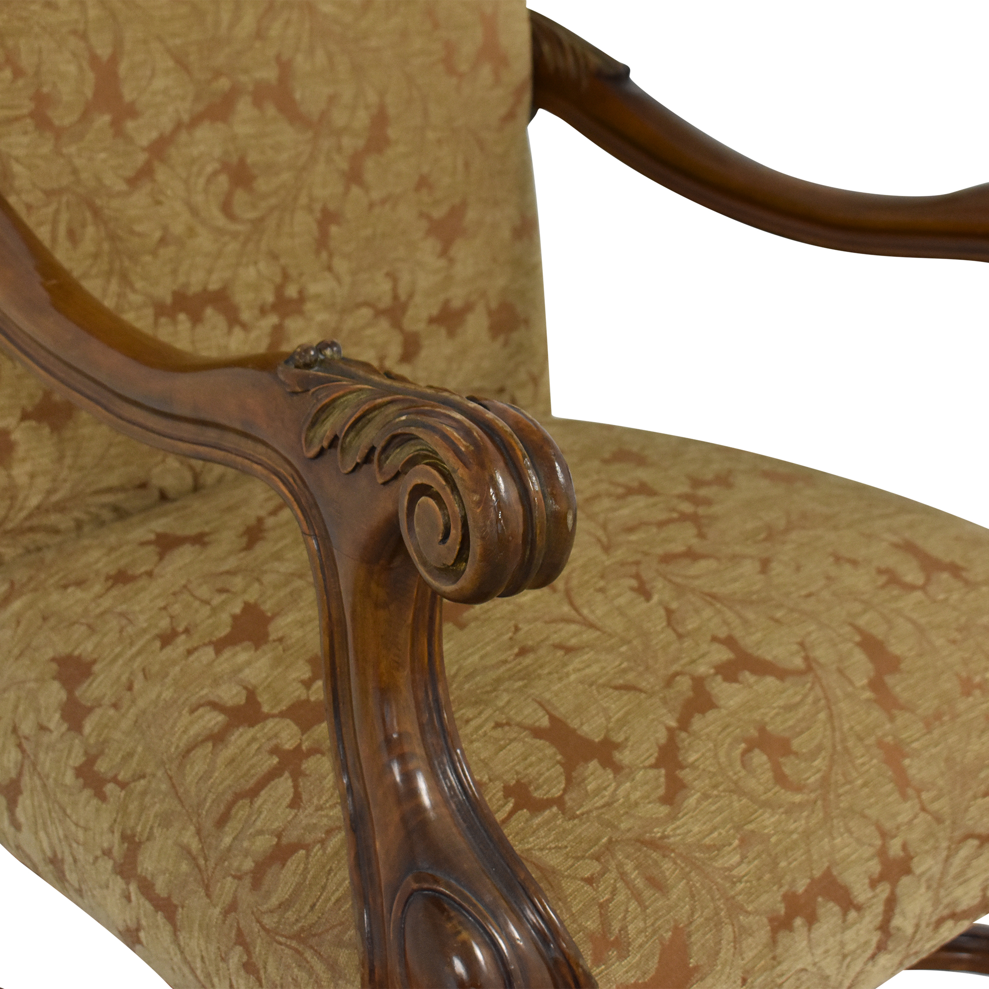 shop Upholstered Accent Arm Chair