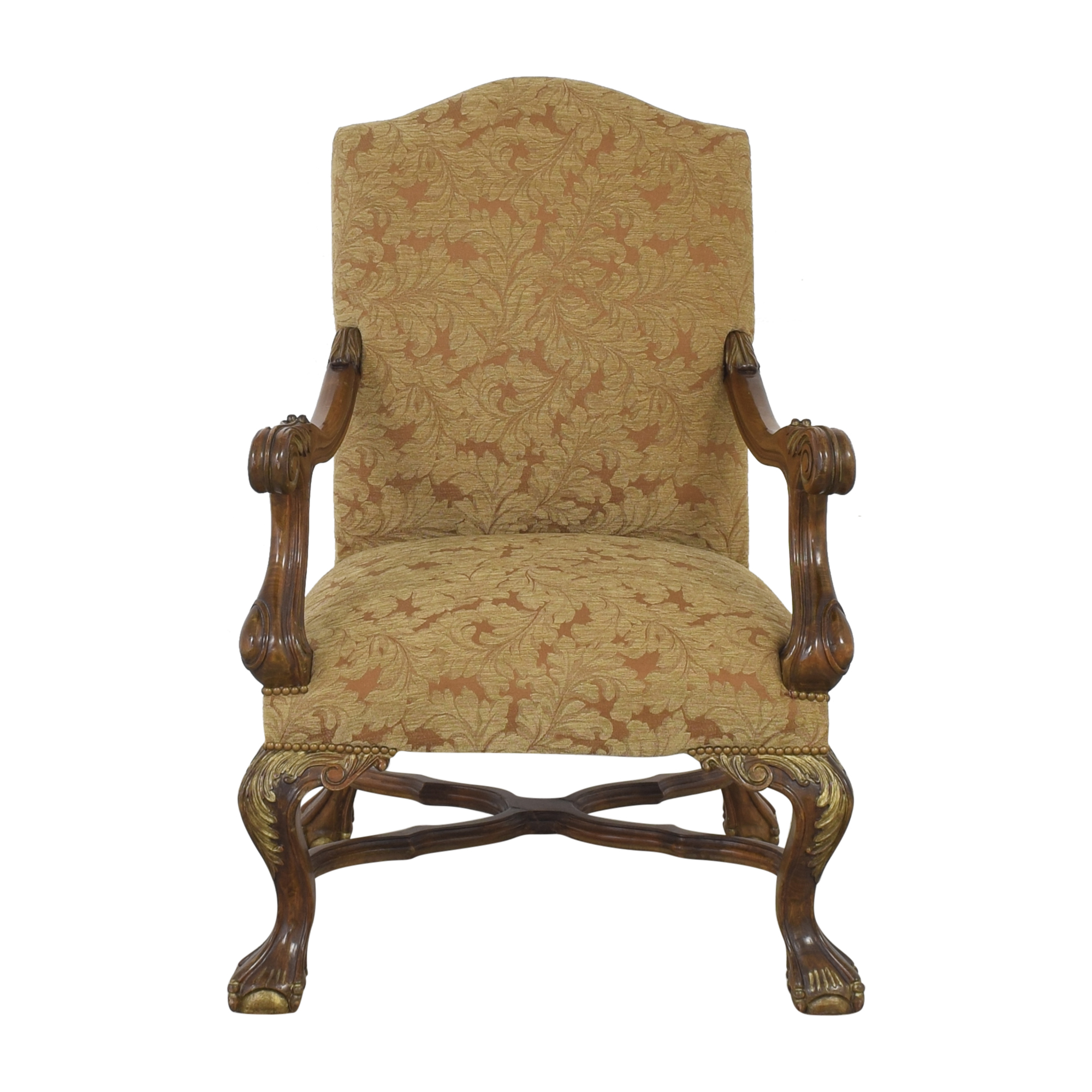 Upholstered Accent Arm Chair on sale