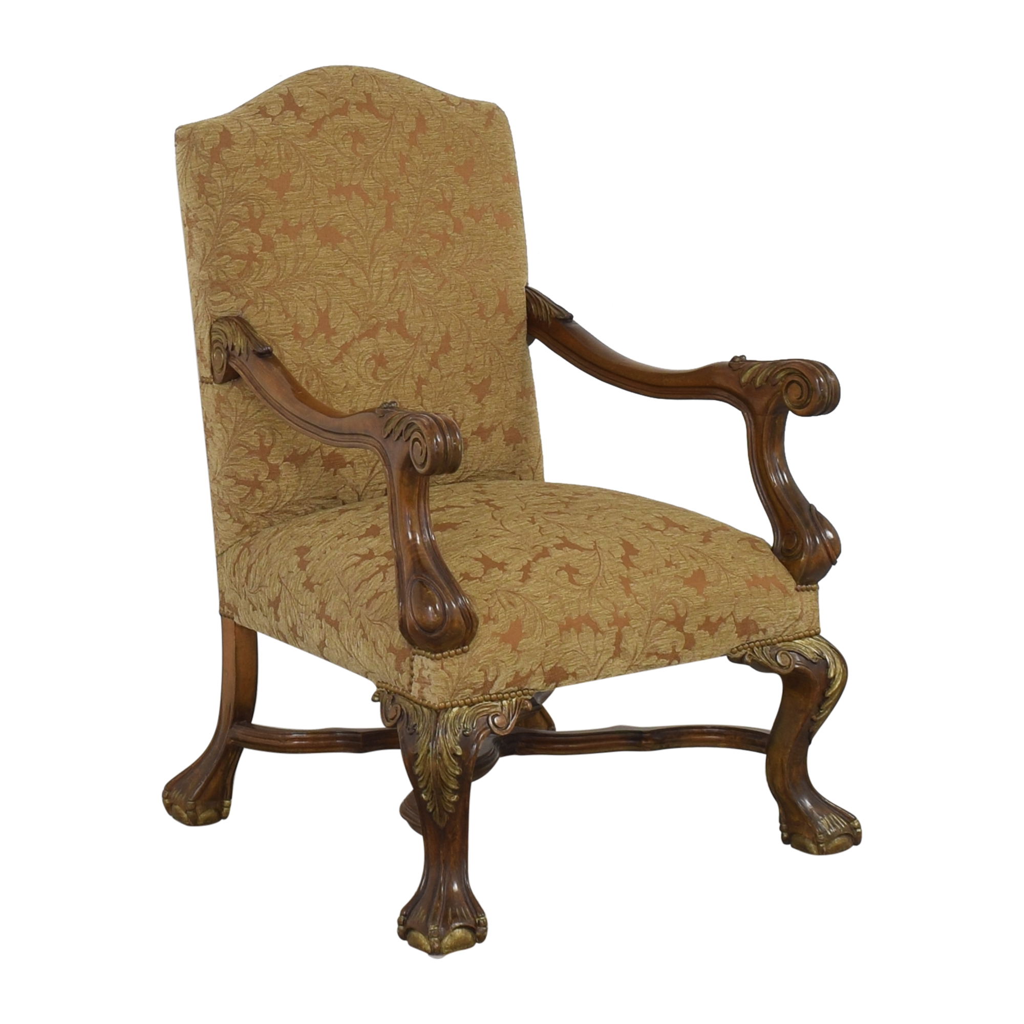 Upholstered Accent Arm Chair price