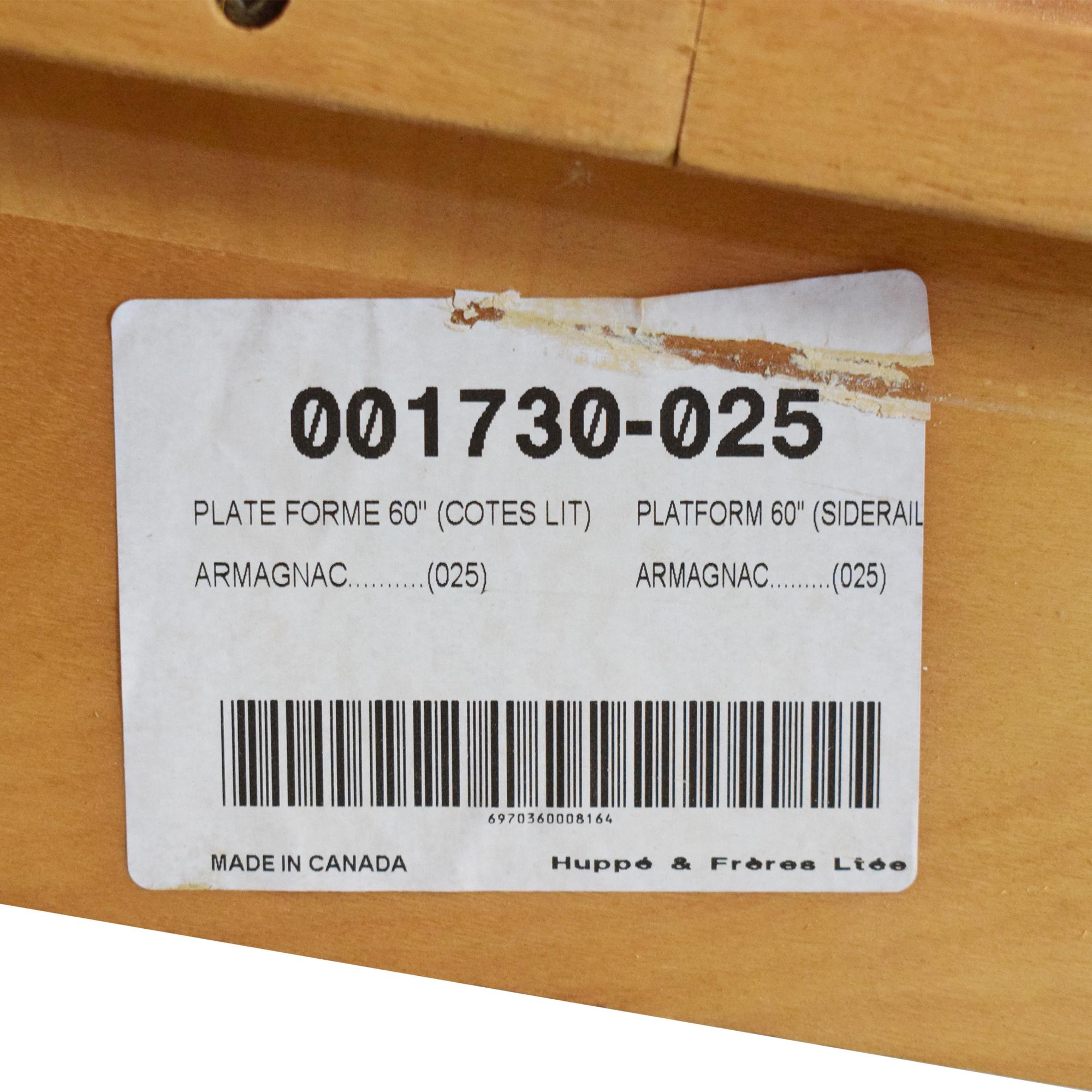 Huppe Queen Platform Bed sale