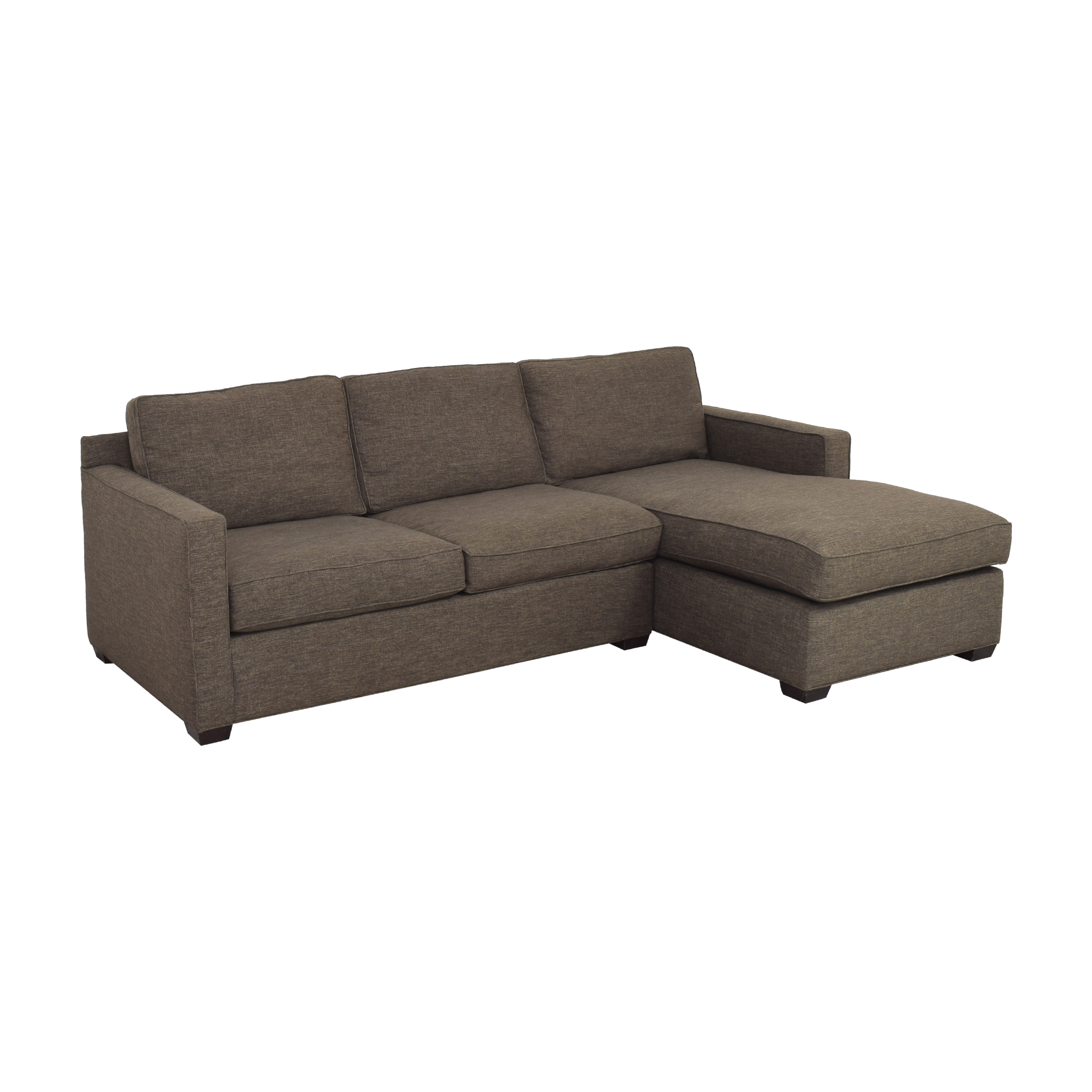 Crate & Barrel Crate & Barrel Sectional Sofa with Chaise Sofas