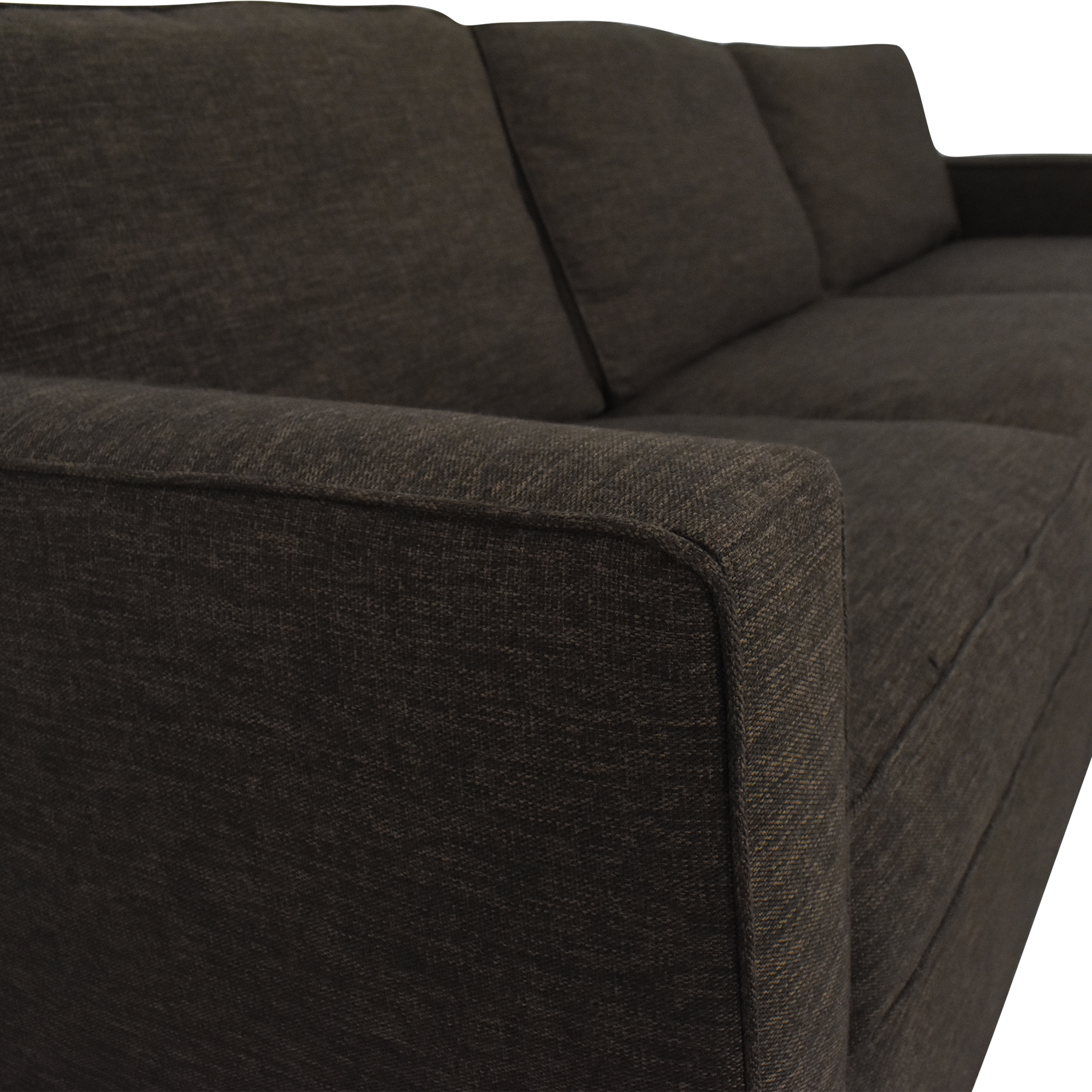 Crate & Barrel Crate & Barrel Sectional Sofa with Chaise second hand