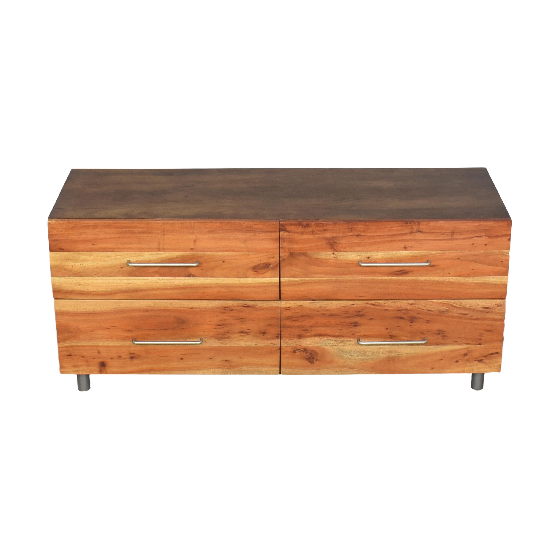 buy CB2 CB2 Junction Low Four Drawer Dresser online