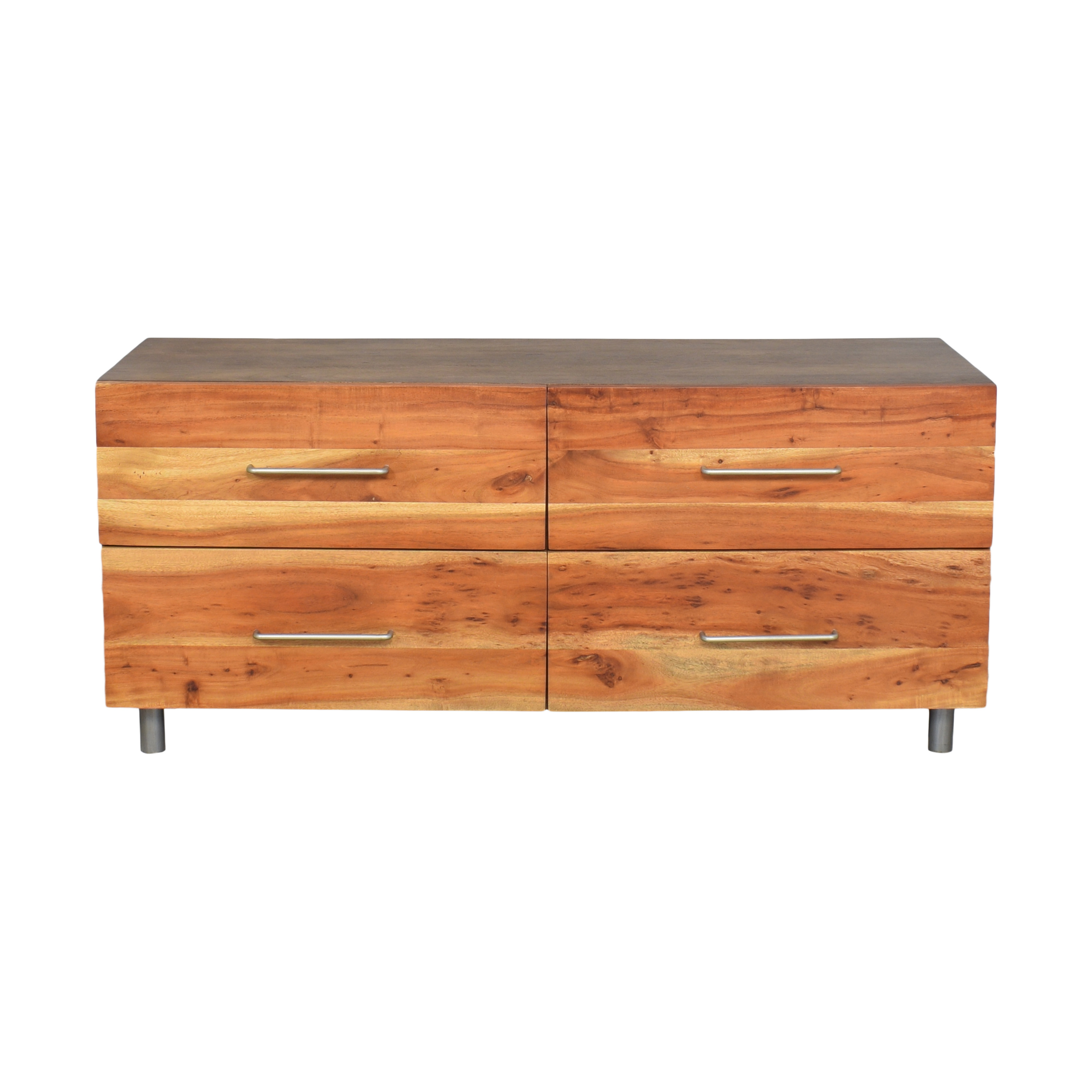 CB2 CB2 Junction Low Four Drawer Dresser for sale
